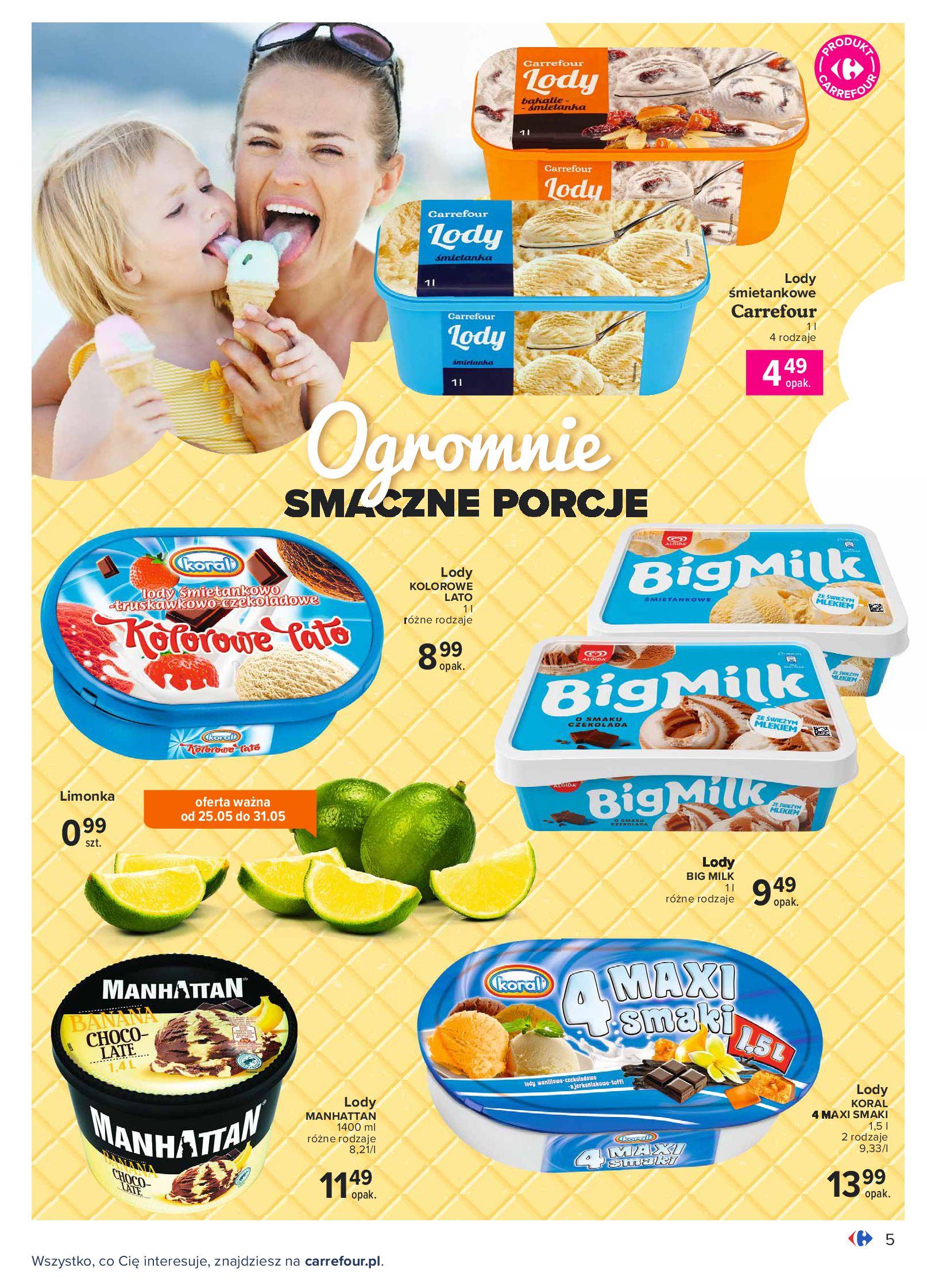 Gazetka Carrefour: Gazetka Carrefour - Wielki wybór lodów 2021-05-25 page-5