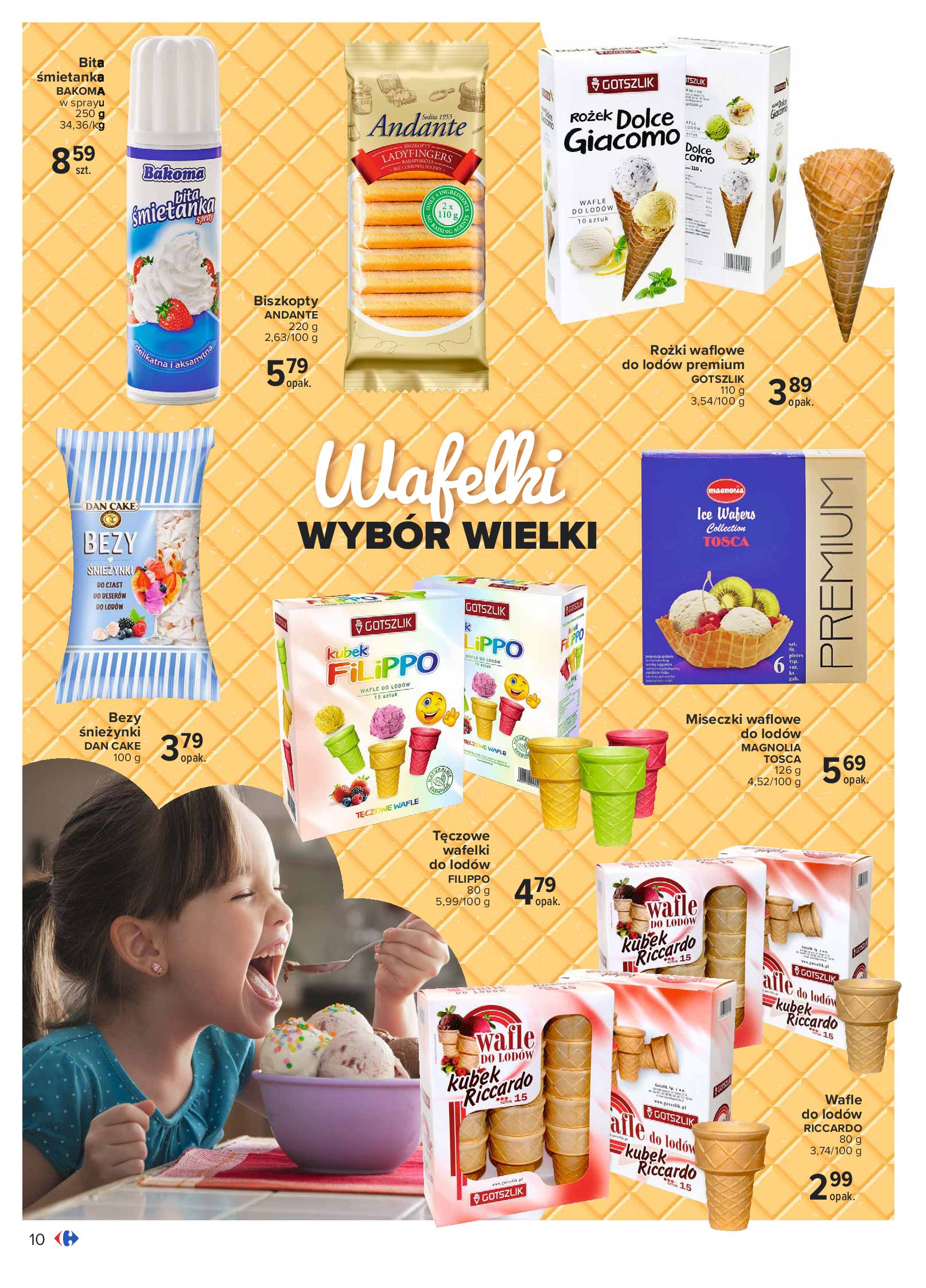 Gazetka Carrefour: Gazetka Carrefour - Wielki wybór lodów 2021-05-25 page-10