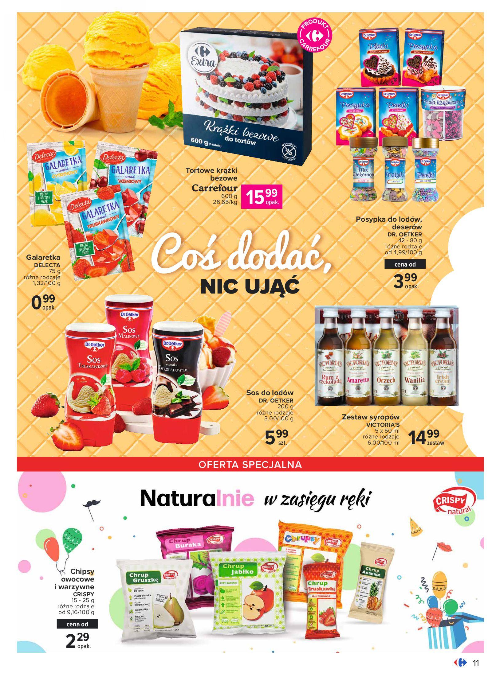 Gazetka Carrefour: Gazetka Carrefour - Wielki wybór lodów 2021-05-25 page-11