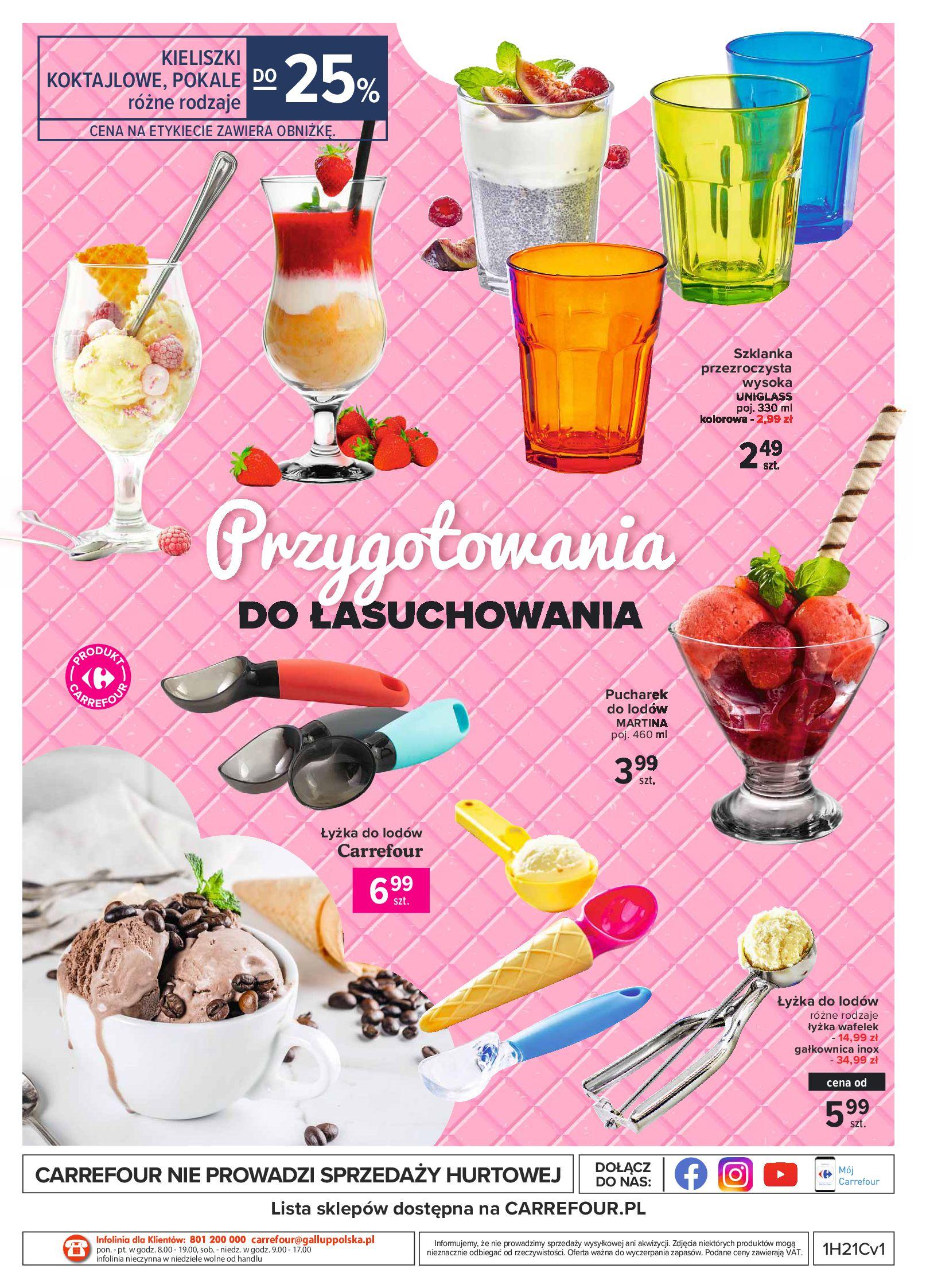 Gazetka Carrefour: Gazetka Carrefour - Wielki wybór lodów 2021-05-25 page-16