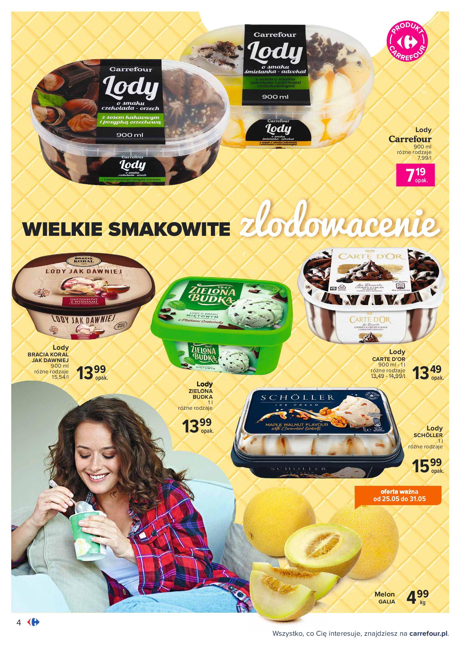Gazetka Carrefour: Gazetka Carrefour - Wielki wybór lodów 2021-05-25 page-4