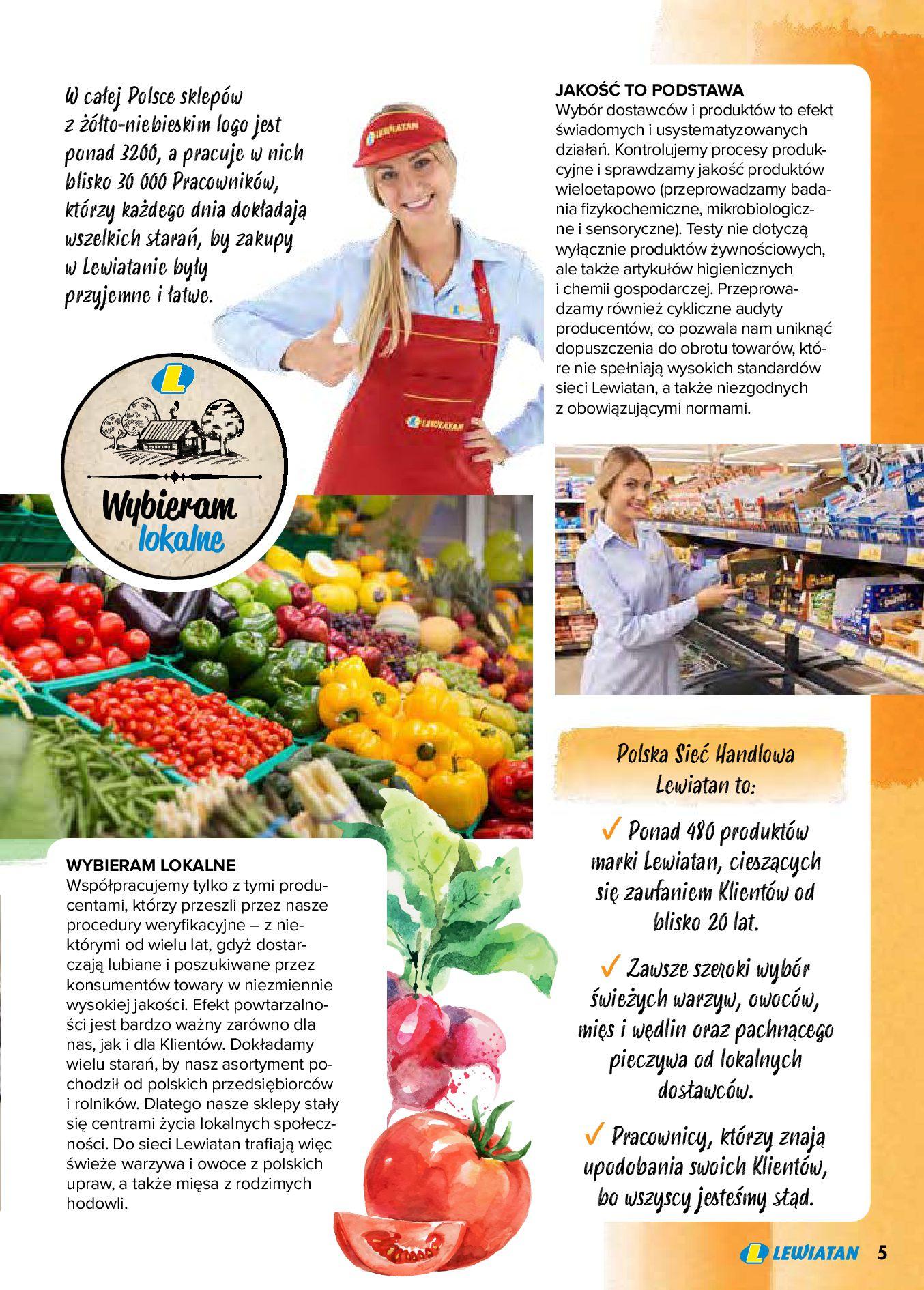 Gazetka Lewiatan: Produkty marki Lewiatan 2020-12-31 page-5