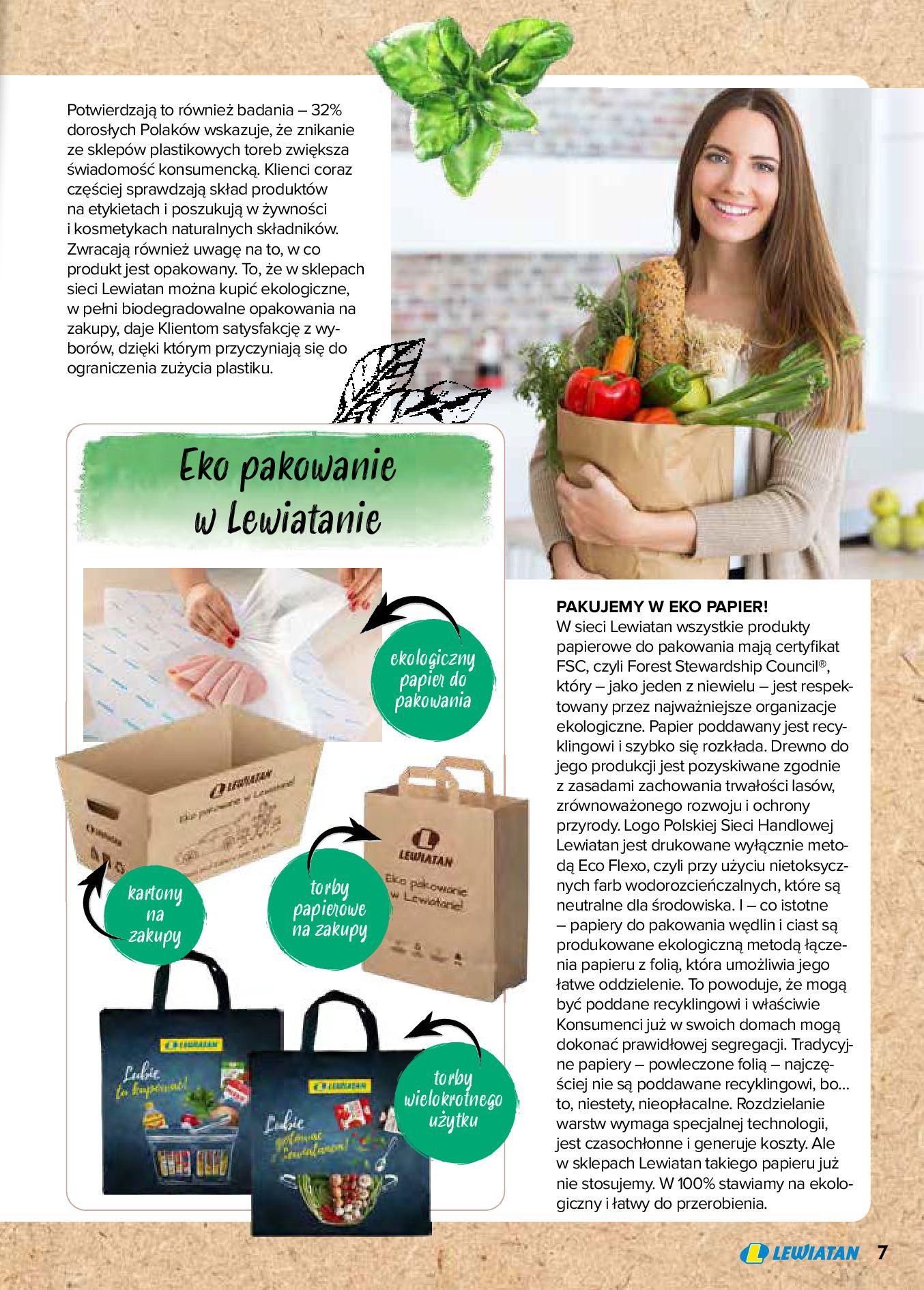 Gazetka Lewiatan: Produkty marki Lewiatan 2020-12-31 page-7
