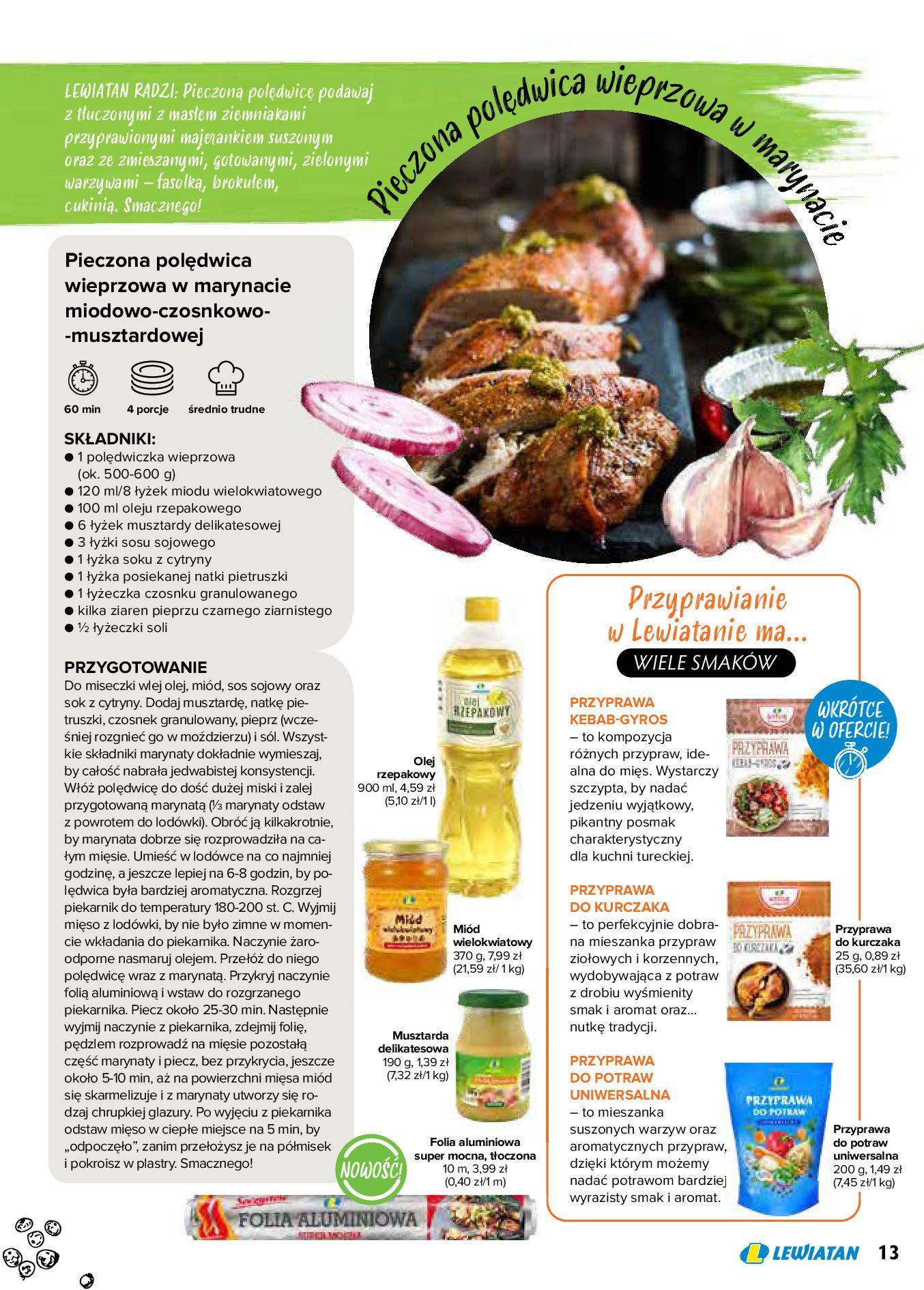Gazetka Lewiatan: Produkty marki Lewiatan 2020-12-31 page-13