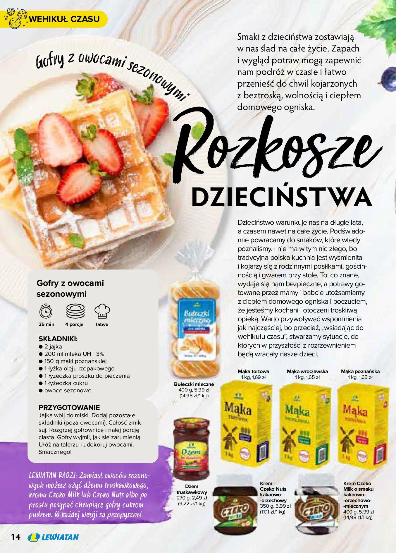 Gazetka Lewiatan: Produkty marki Lewiatan 2020-12-31 page-14