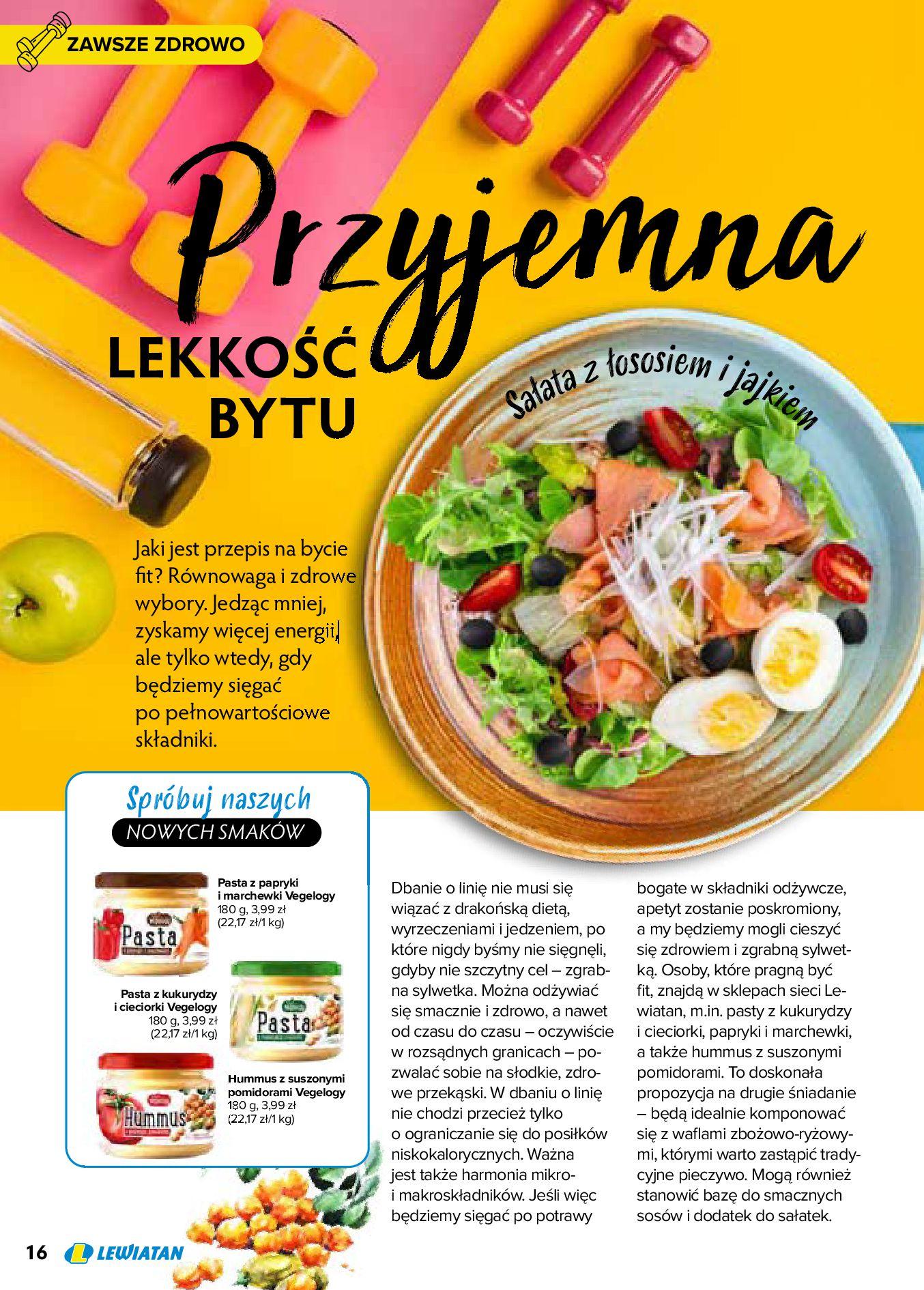 Gazetka Lewiatan: Produkty marki Lewiatan 2020-12-31 page-16