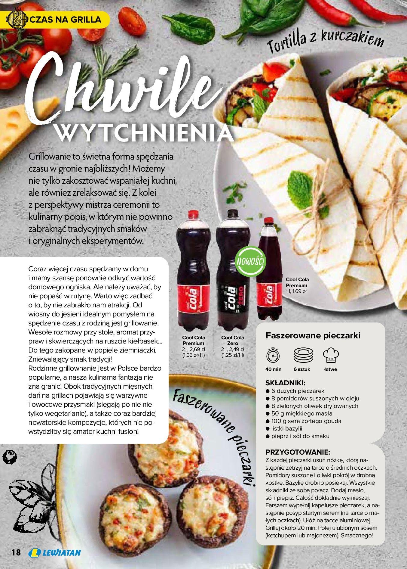 Gazetka Lewiatan: Produkty marki Lewiatan 2020-12-31 page-18