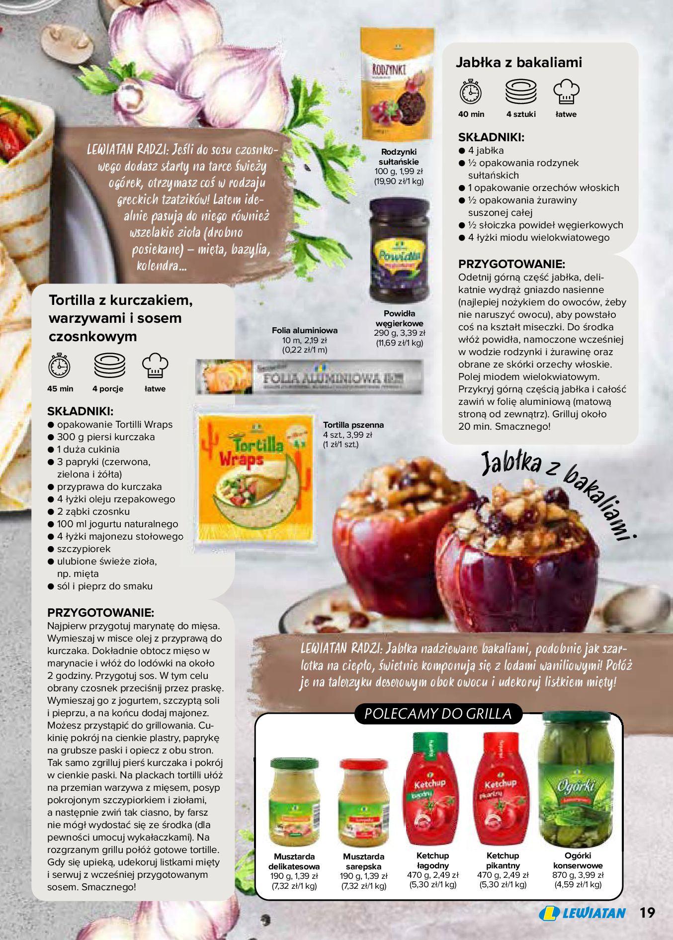 Gazetka Lewiatan: Produkty marki Lewiatan 2020-12-31 page-19