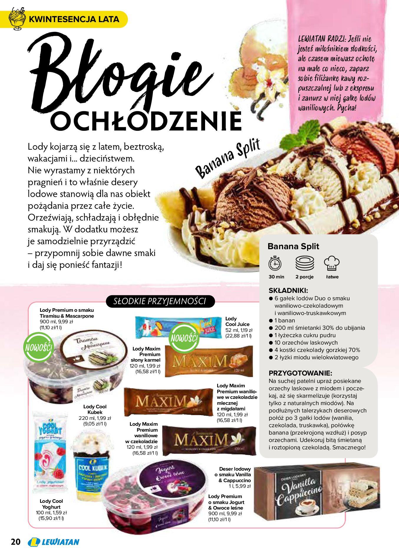 Gazetka Lewiatan: Produkty marki Lewiatan 2020-12-31 page-20