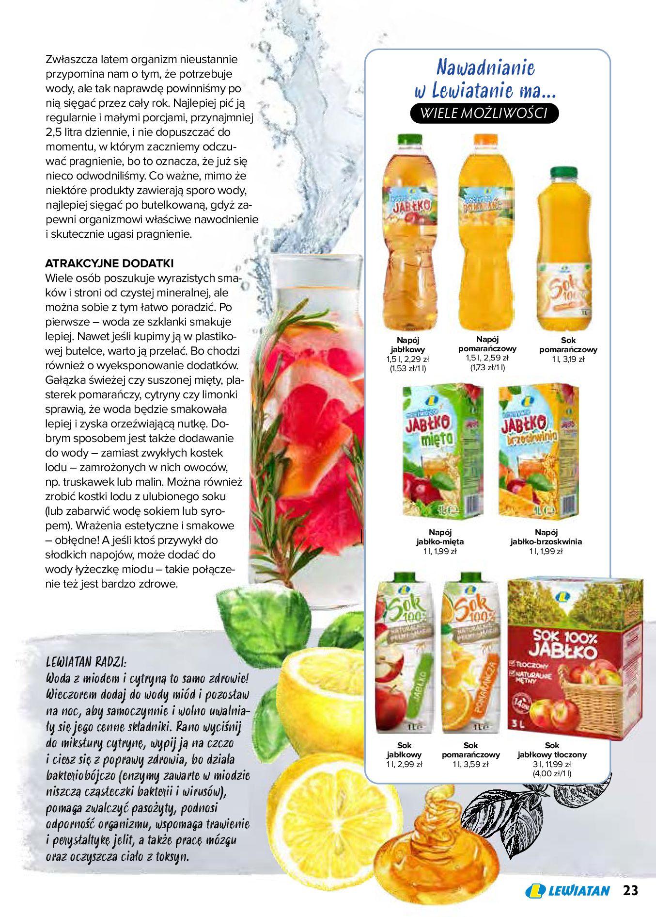 Gazetka Lewiatan: Produkty marki Lewiatan 2020-12-31 page-23
