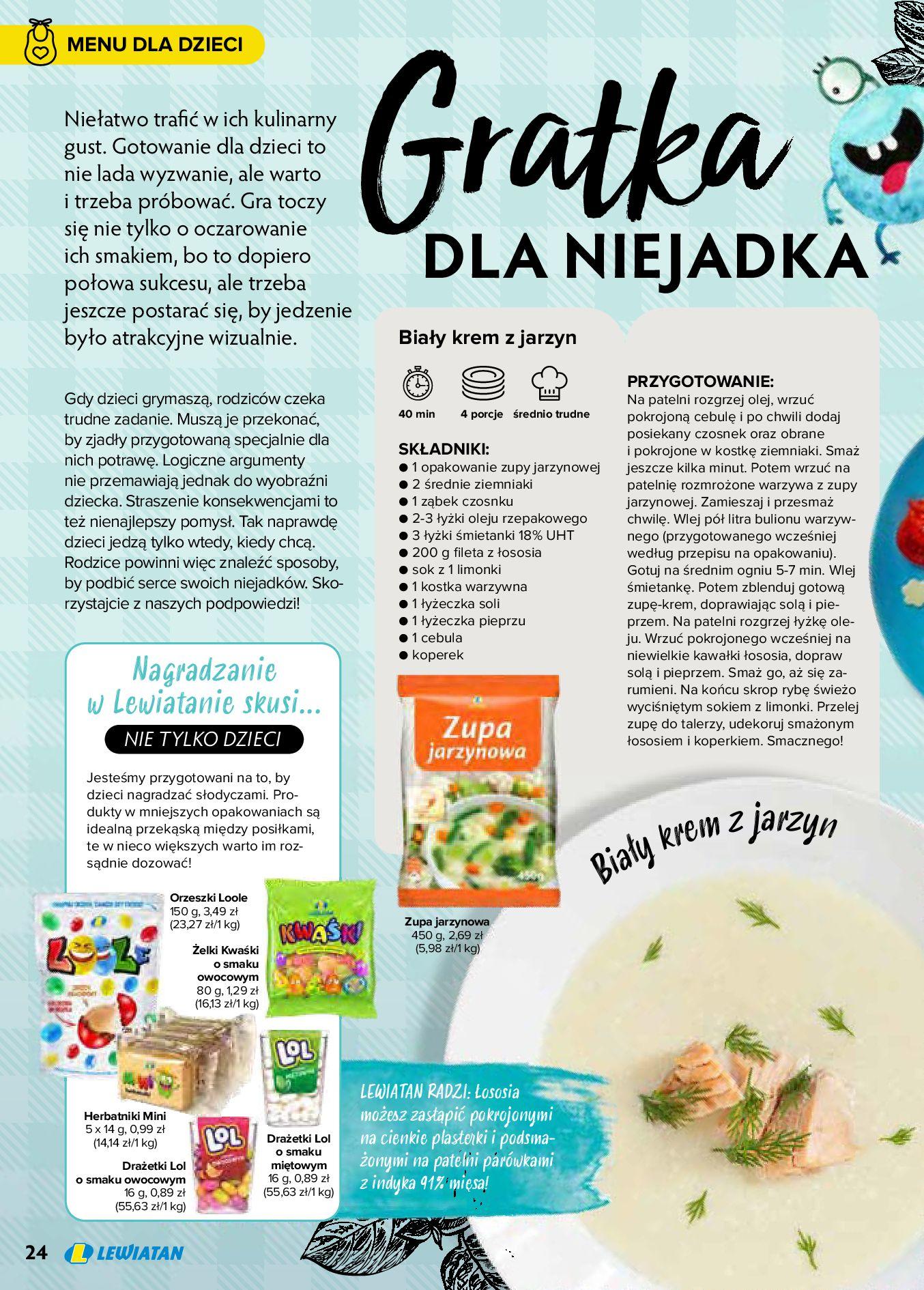 Gazetka Lewiatan: Produkty marki Lewiatan 2020-12-31 page-24