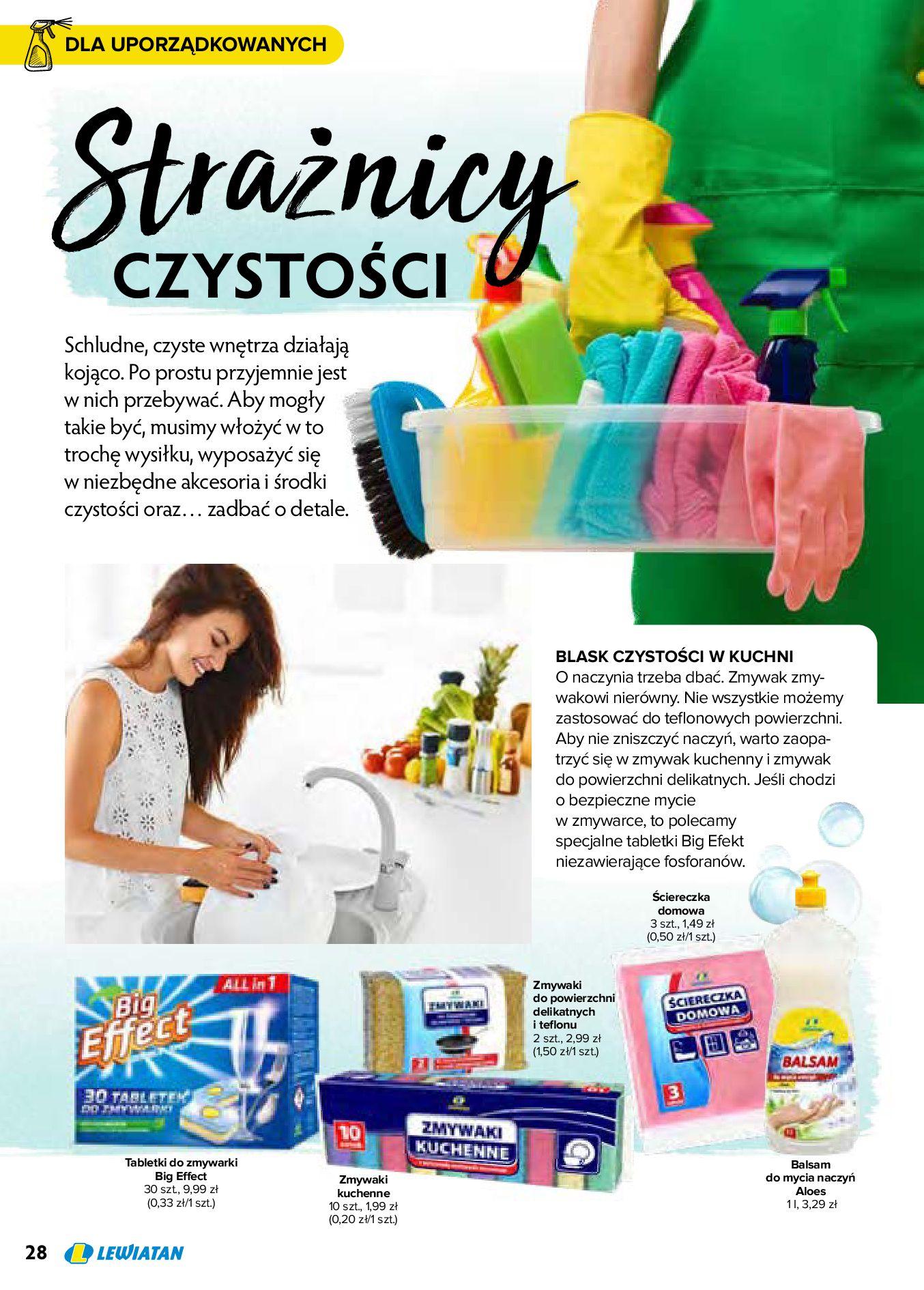 Gazetka Lewiatan: Produkty marki Lewiatan 2020-12-31 page-28