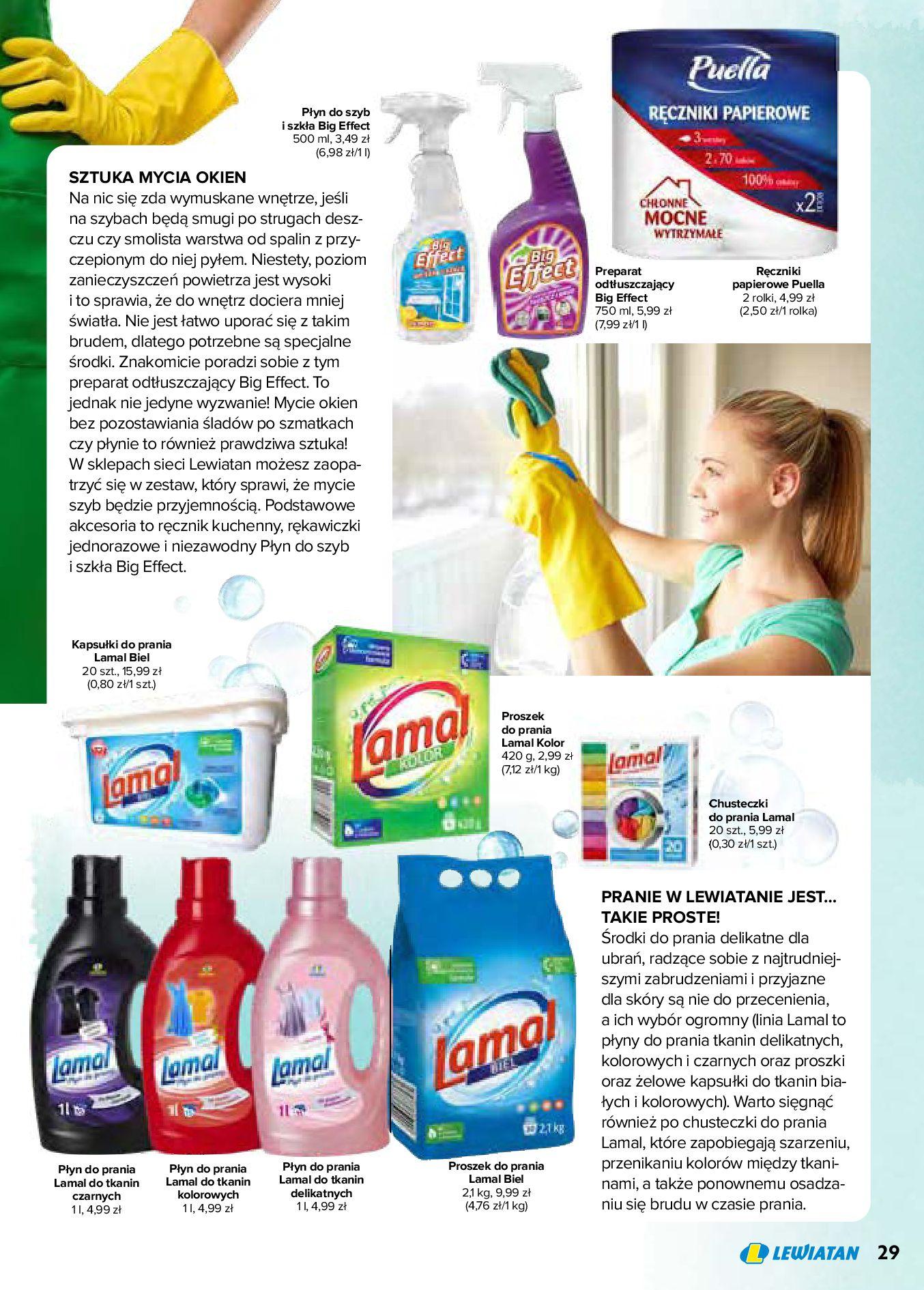 Gazetka Lewiatan: Produkty marki Lewiatan 2020-12-31 page-29