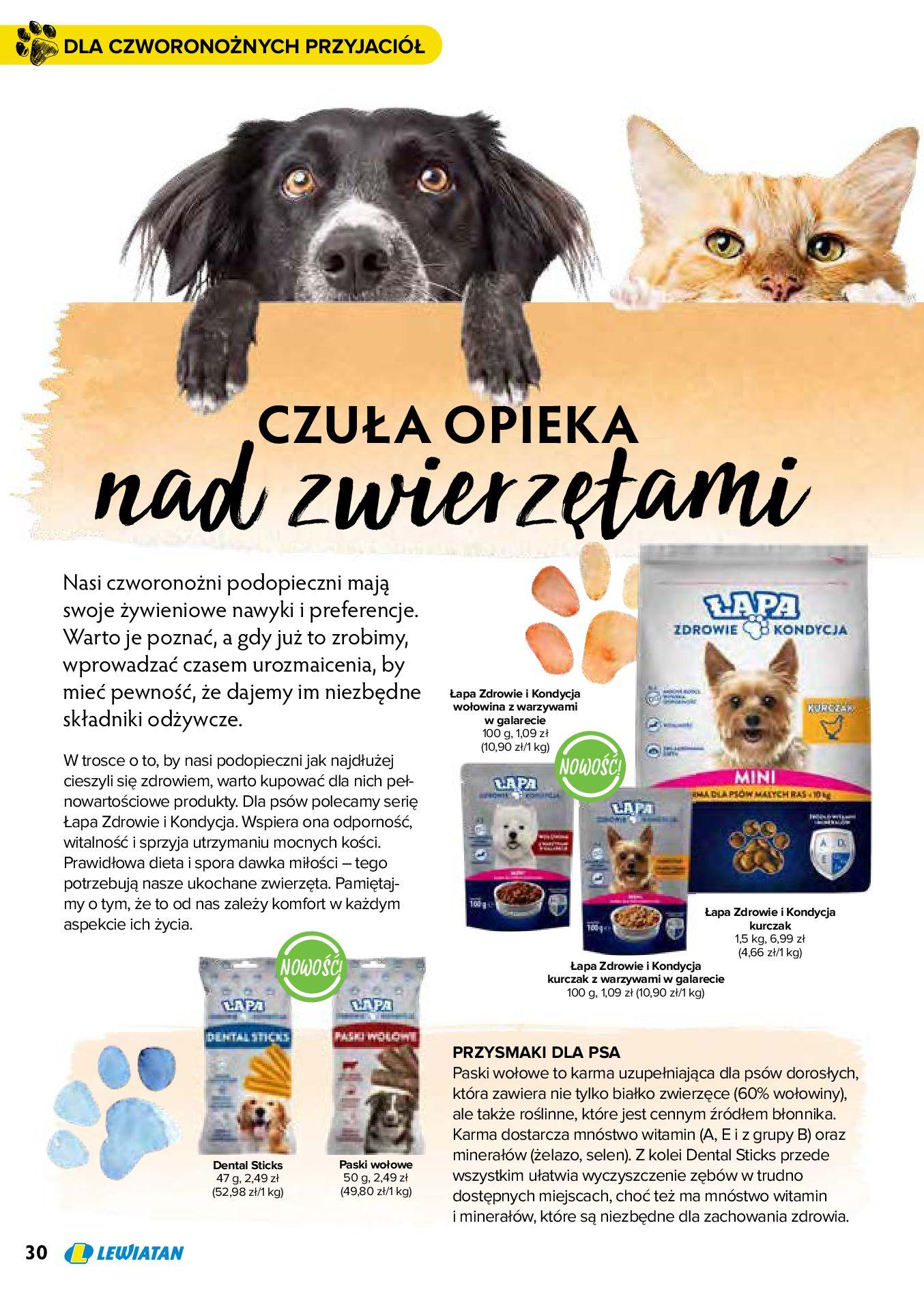 Gazetka Lewiatan: Produkty marki Lewiatan 2020-12-31 page-30