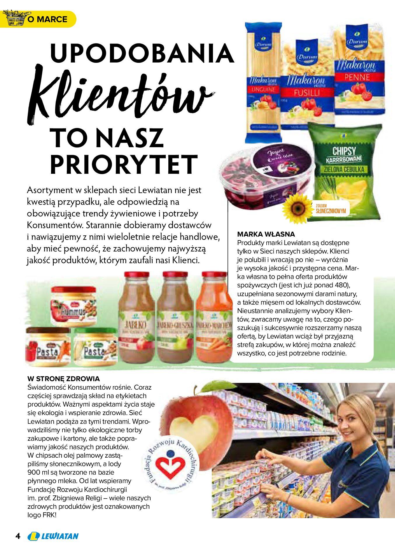 Gazetka Lewiatan: Produkty marki Lewiatan 2020-12-31 page-4