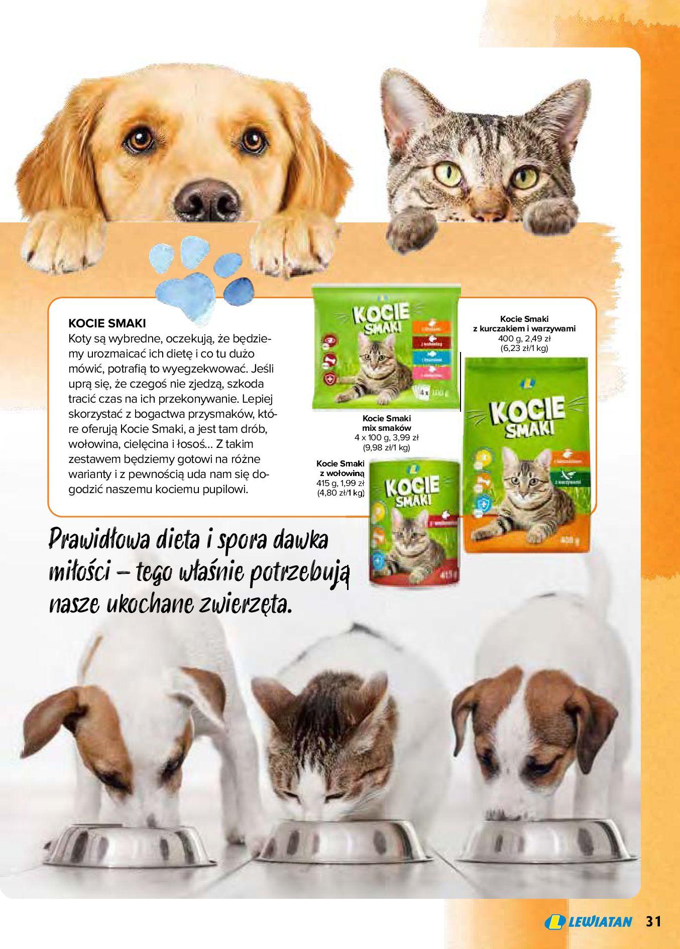 Gazetka Lewiatan: Produkty marki Lewiatan 2020-12-31 page-31
