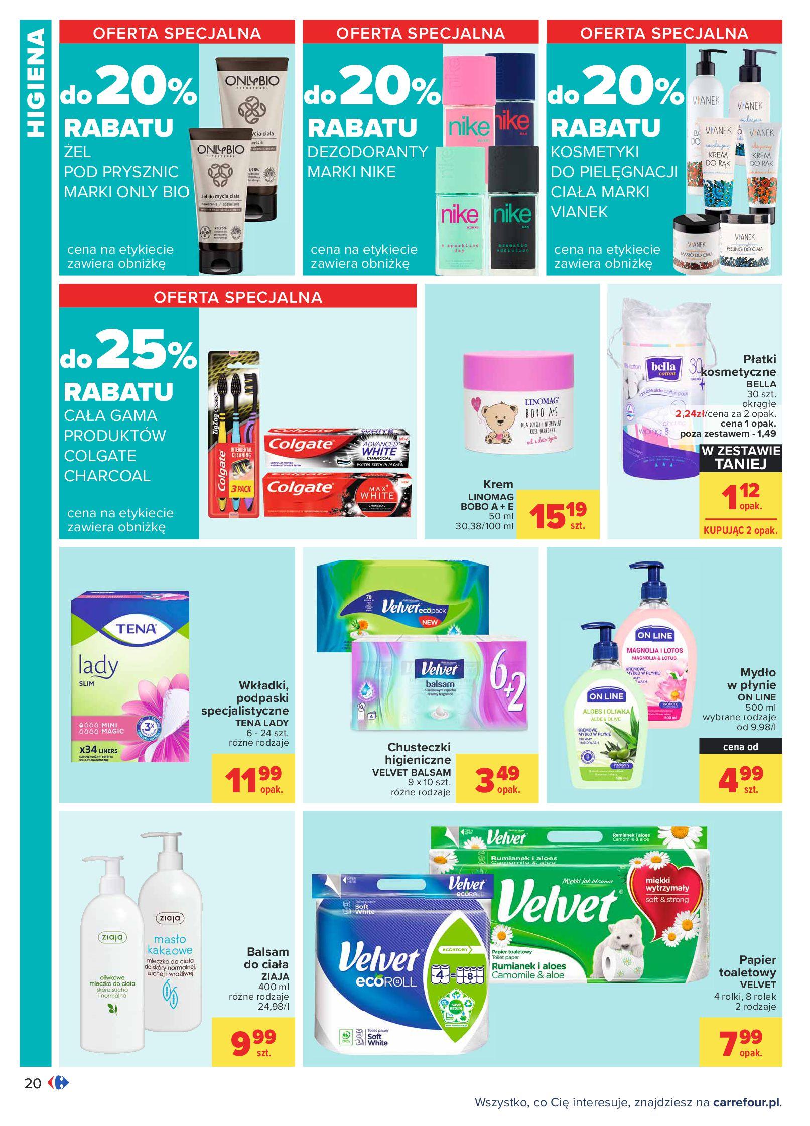 Gazetka Carrefour: Oferta handlowa od 04.05 2021-05-04 page-20