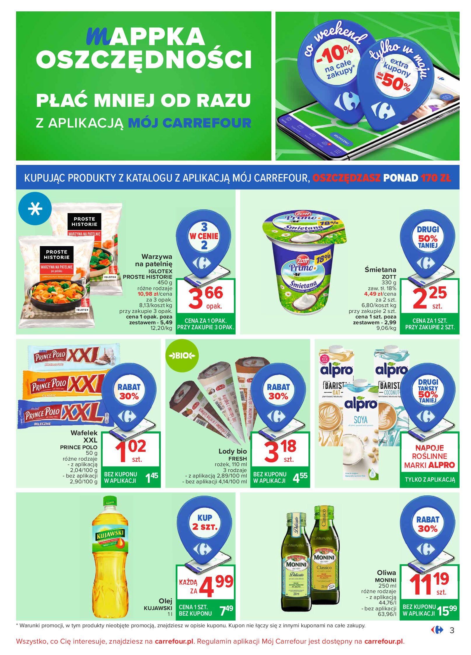 Gazetka Carrefour: Oferta handlowa od 04.05 2021-05-04 page-3