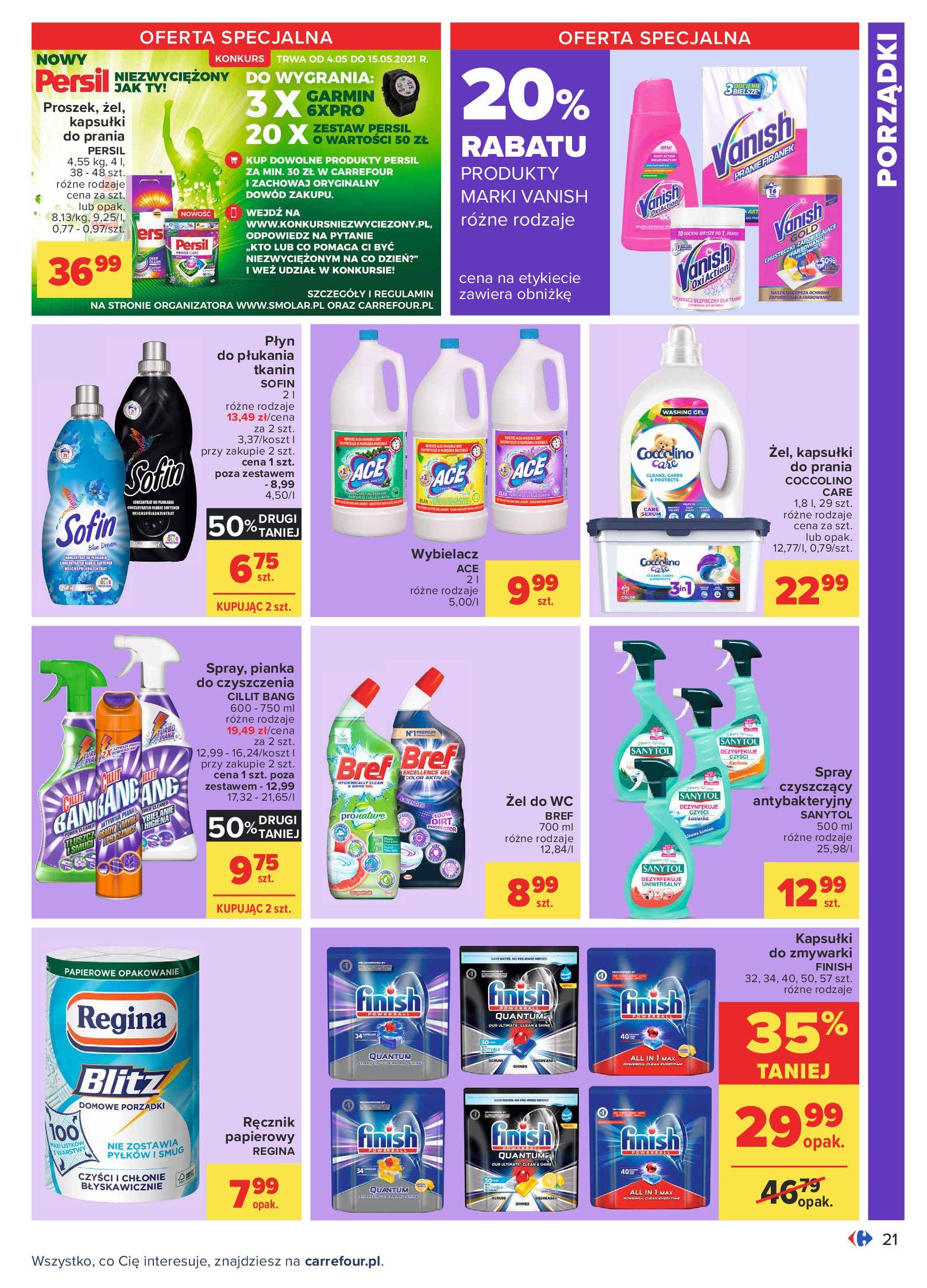 Gazetka Carrefour: Oferta handlowa od 04.05 2021-05-04 page-21