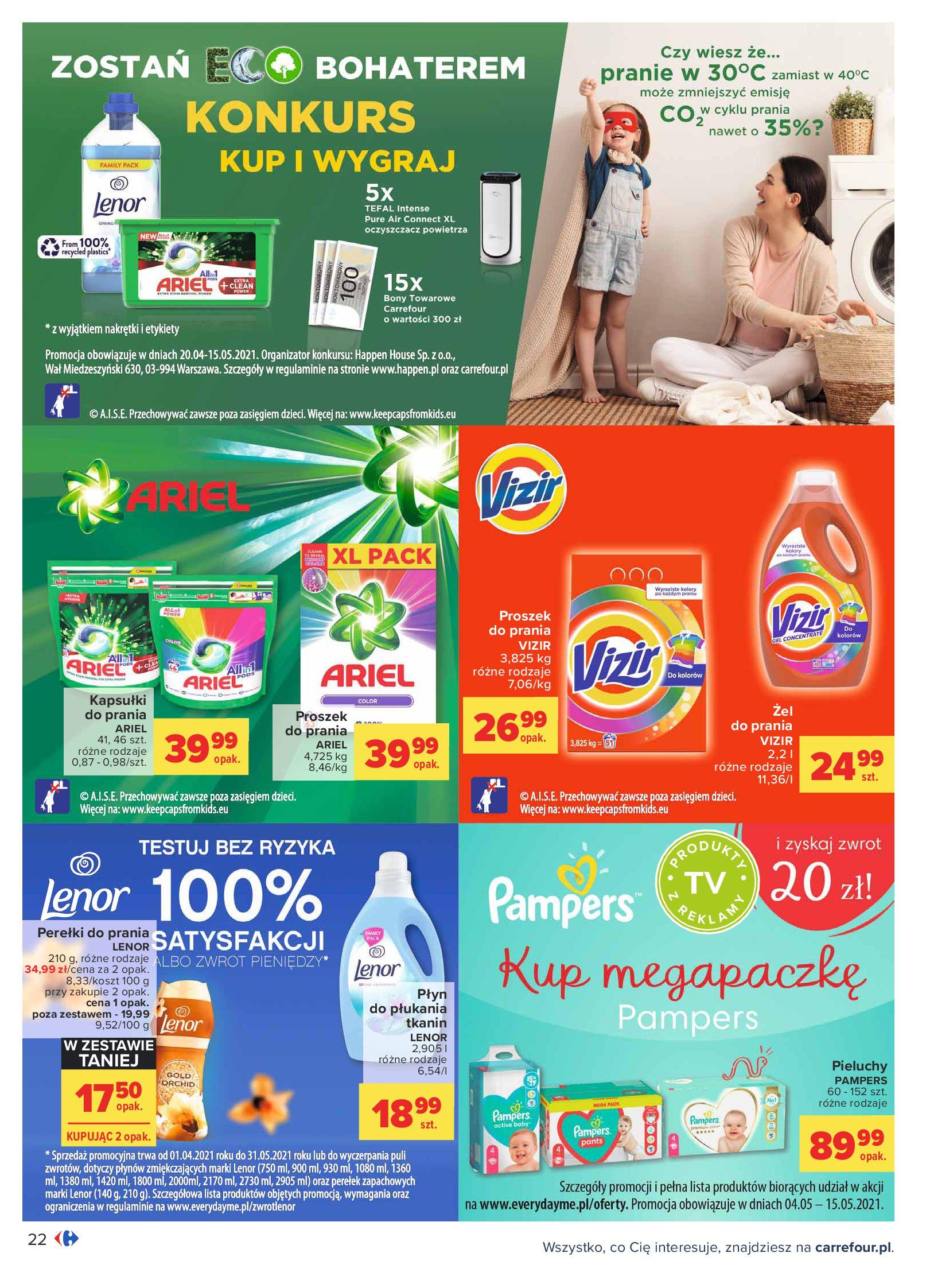 Gazetka Carrefour: Oferta handlowa od 04.05 2021-05-04 page-22