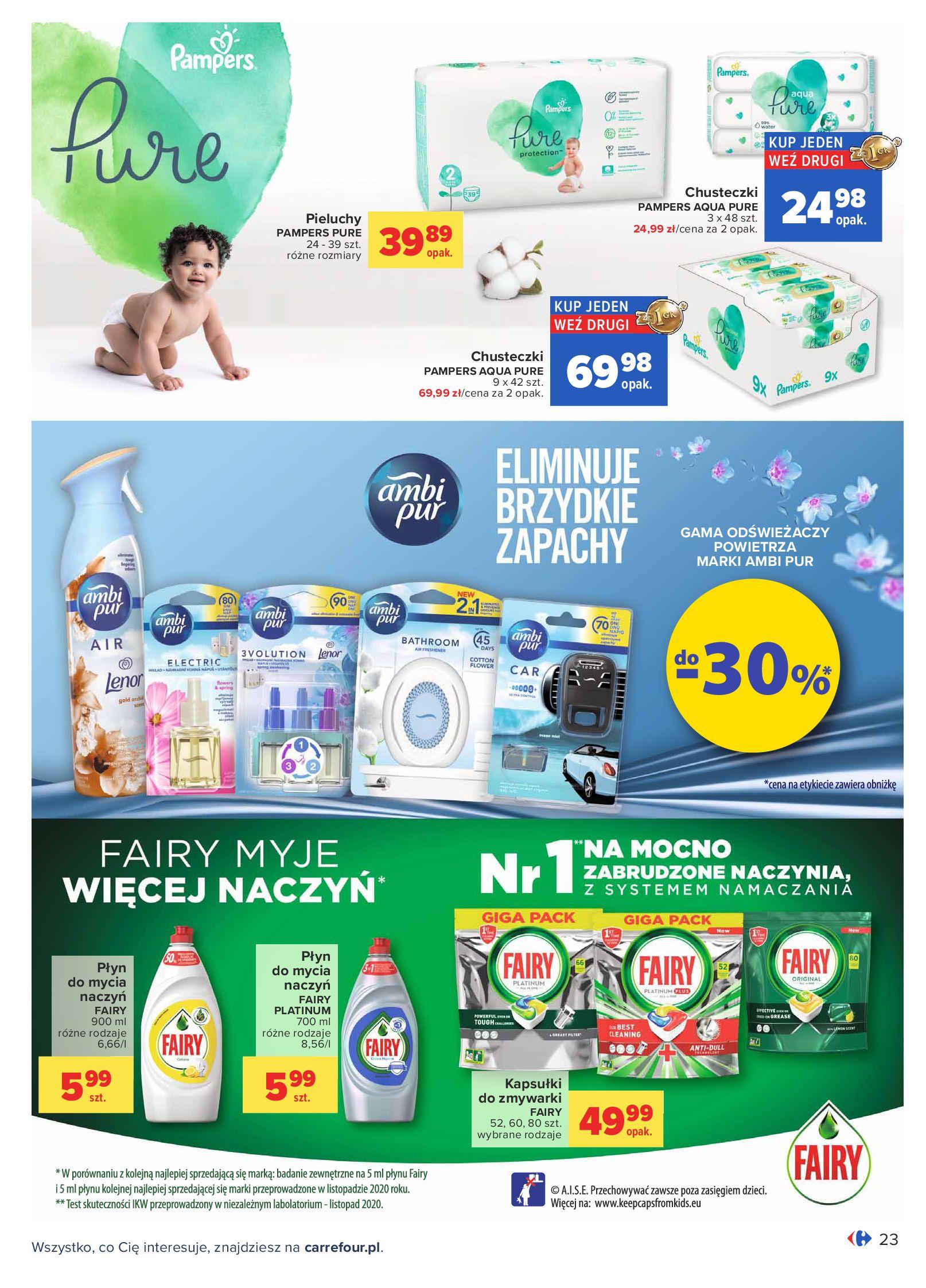 Gazetka Carrefour: Oferta handlowa od 04.05 2021-05-04 page-23