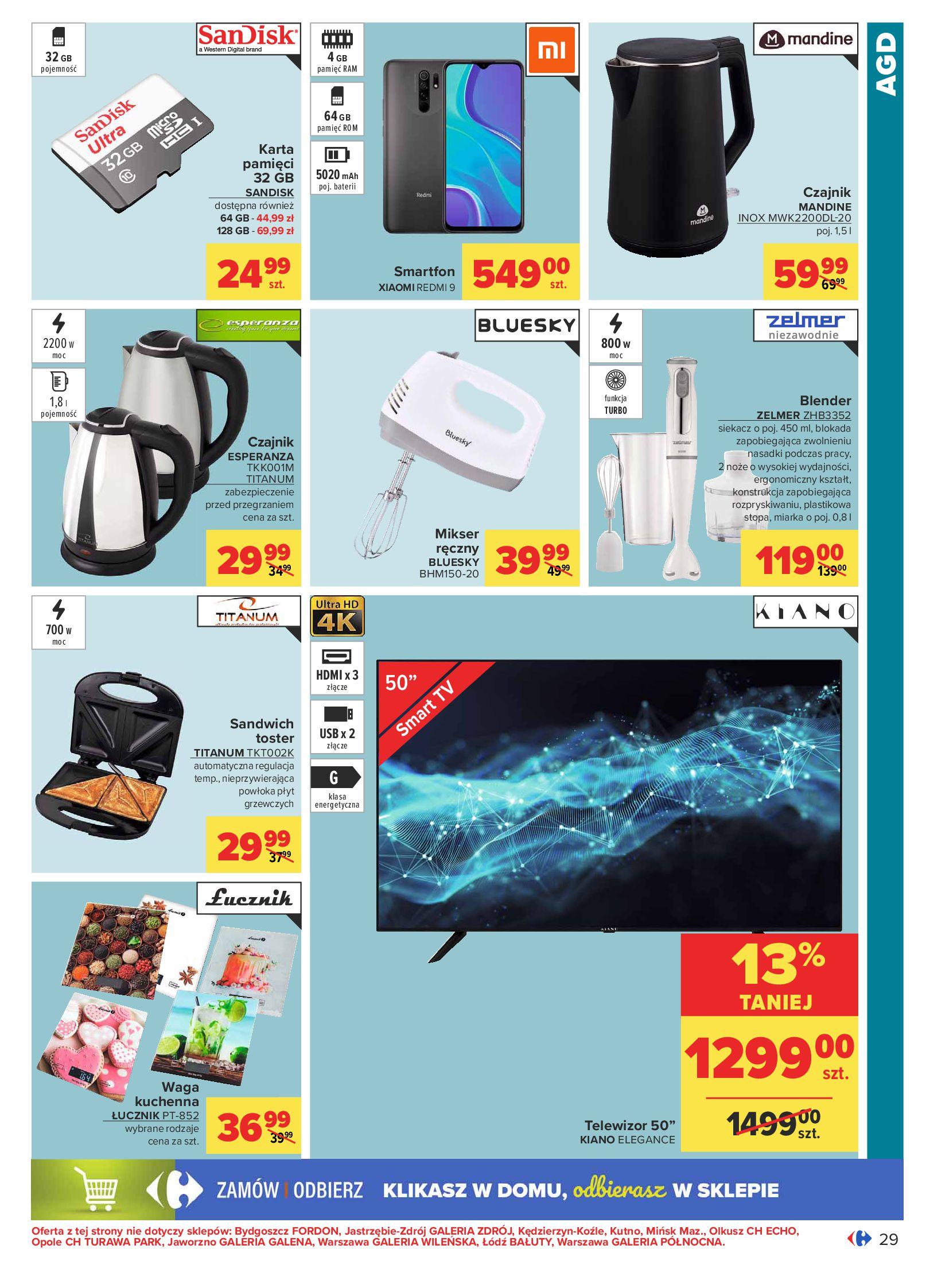 Gazetka Carrefour: Oferta handlowa od 04.05 2021-05-04 page-29