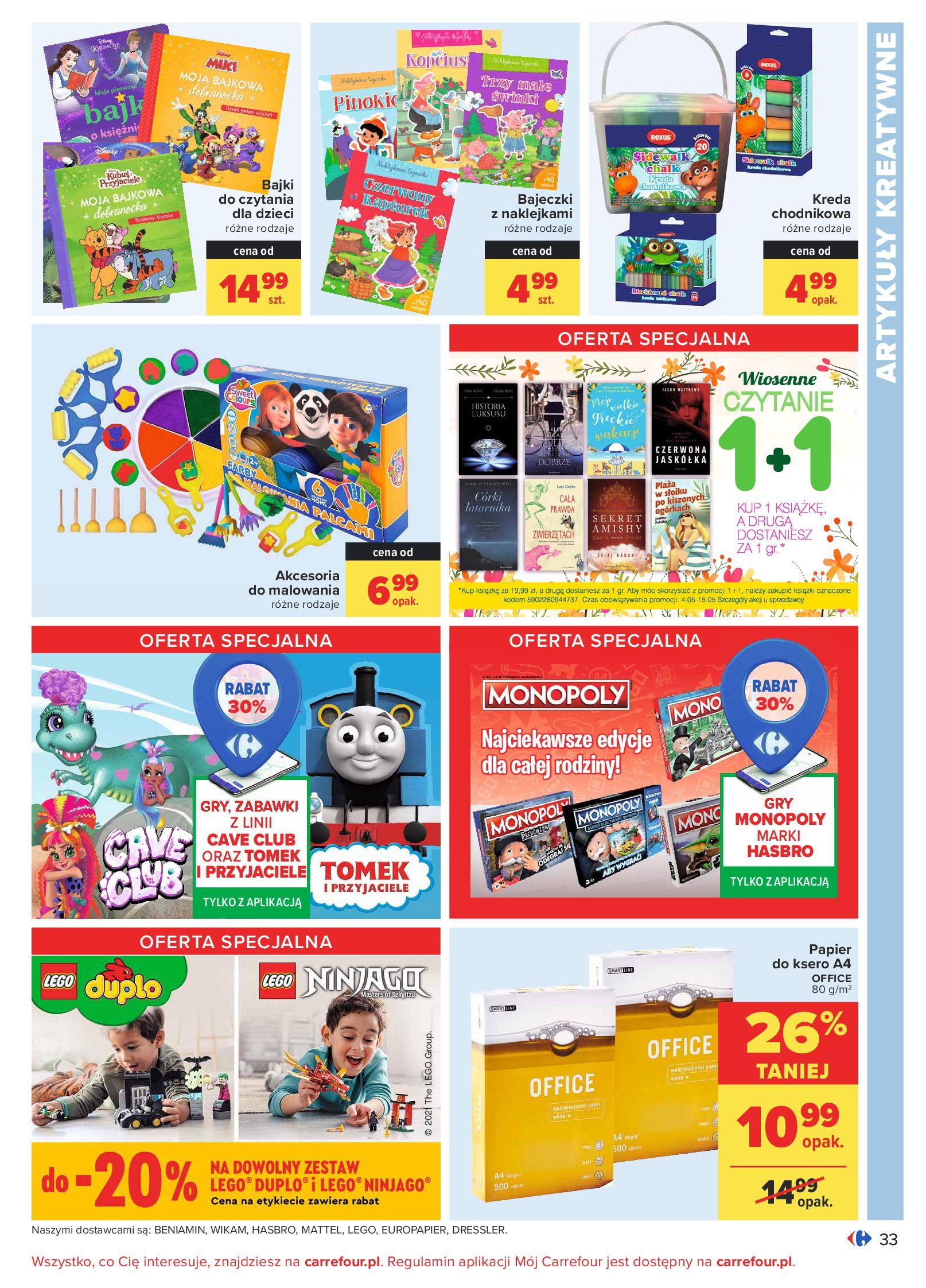 Gazetka Carrefour: Oferta handlowa od 04.05 2021-05-04 page-33