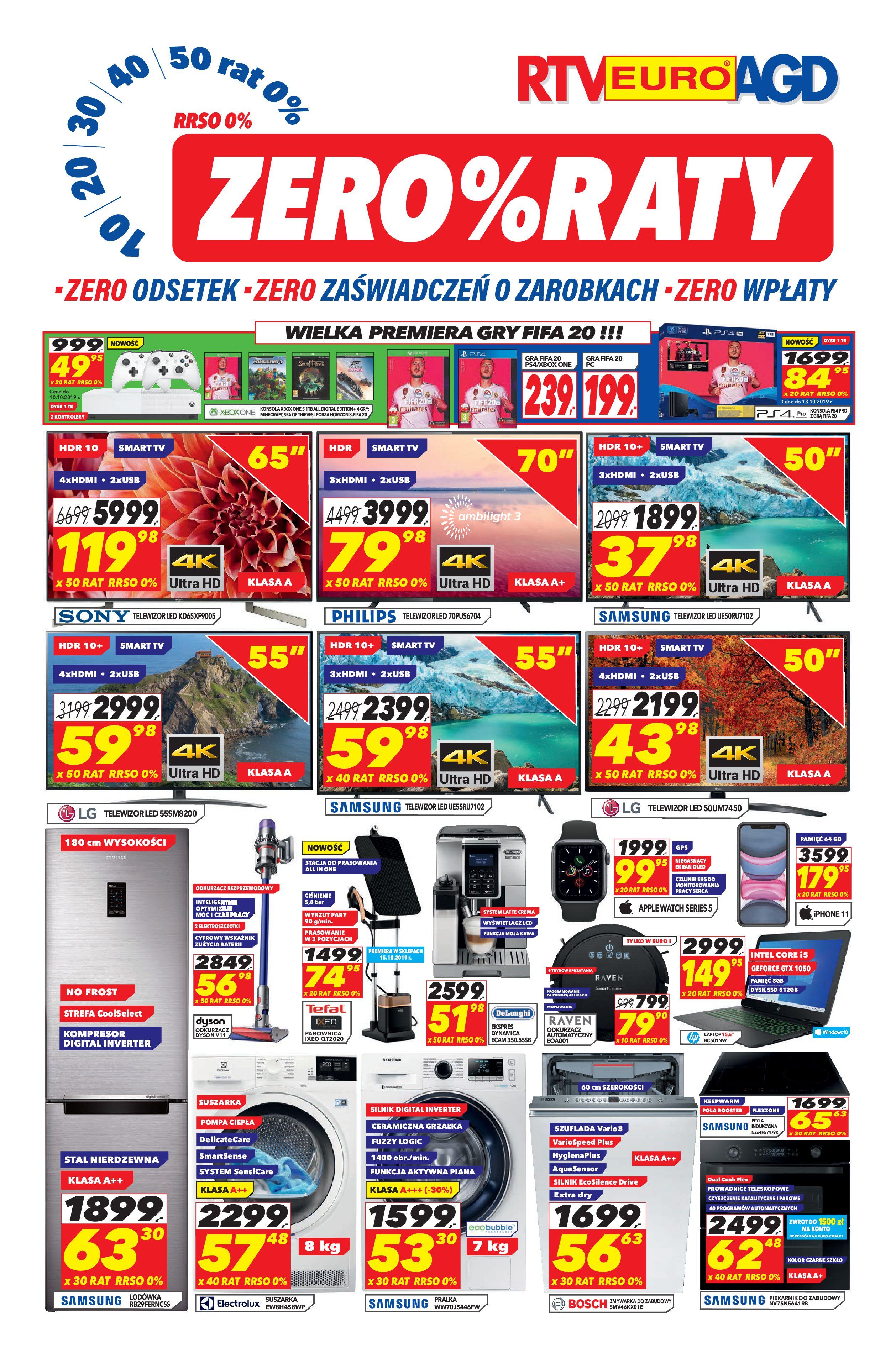 Gazetka RTV EURO AGD - Oferta handlowa-30.09.2019-30.10.2019-page-1