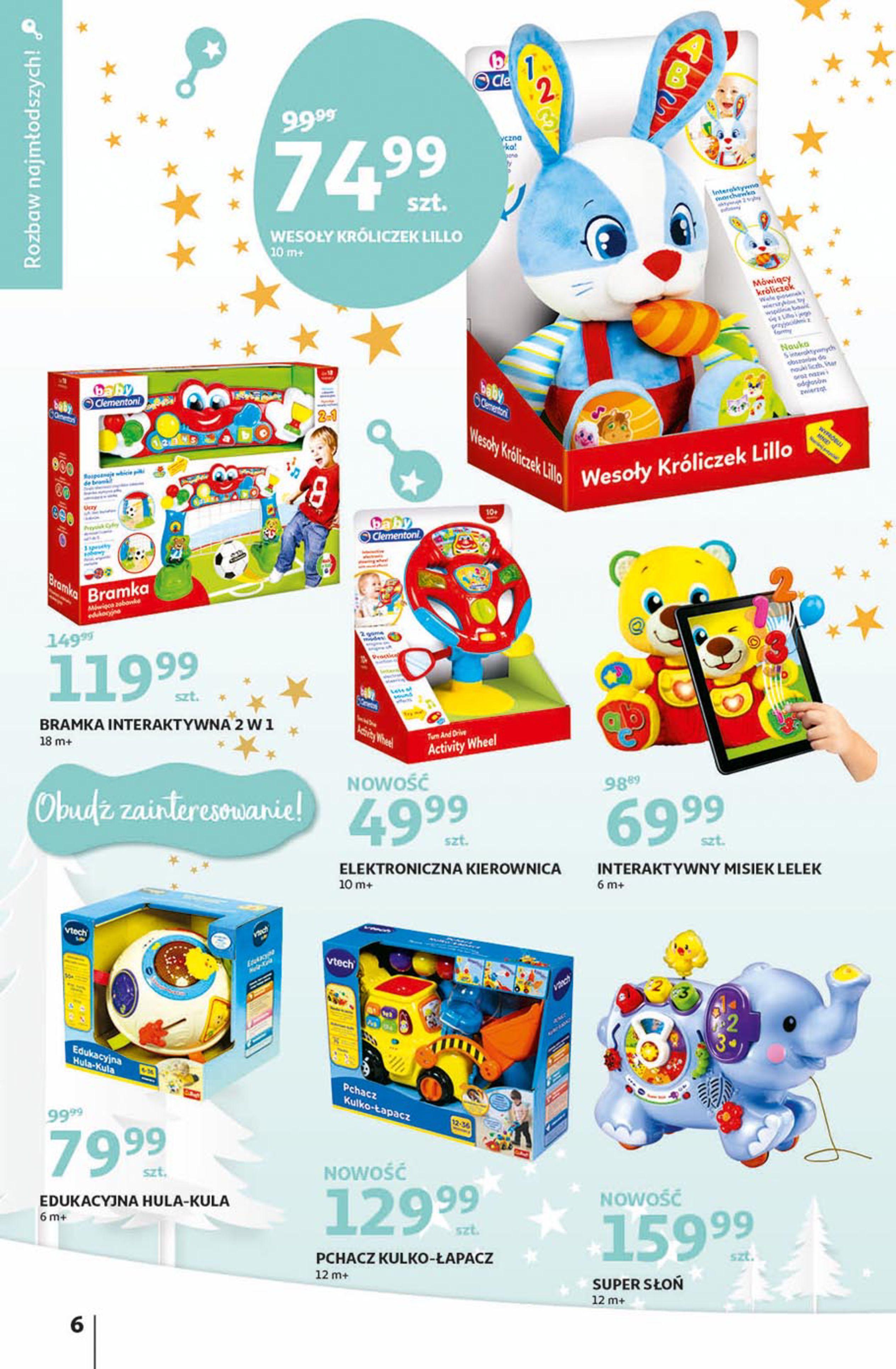 Gazetka Auchan - Magia zabawek Hipermarkety-06.11.2019-20.11.2019-page-6
