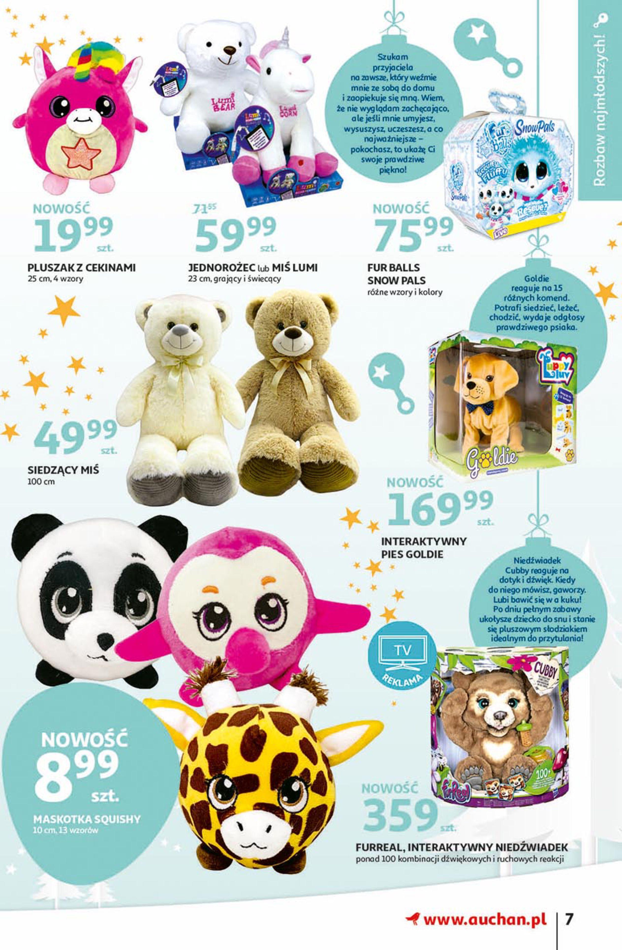 Gazetka Auchan - Magia zabawek Hipermarkety-06.11.2019-20.11.2019-page-7