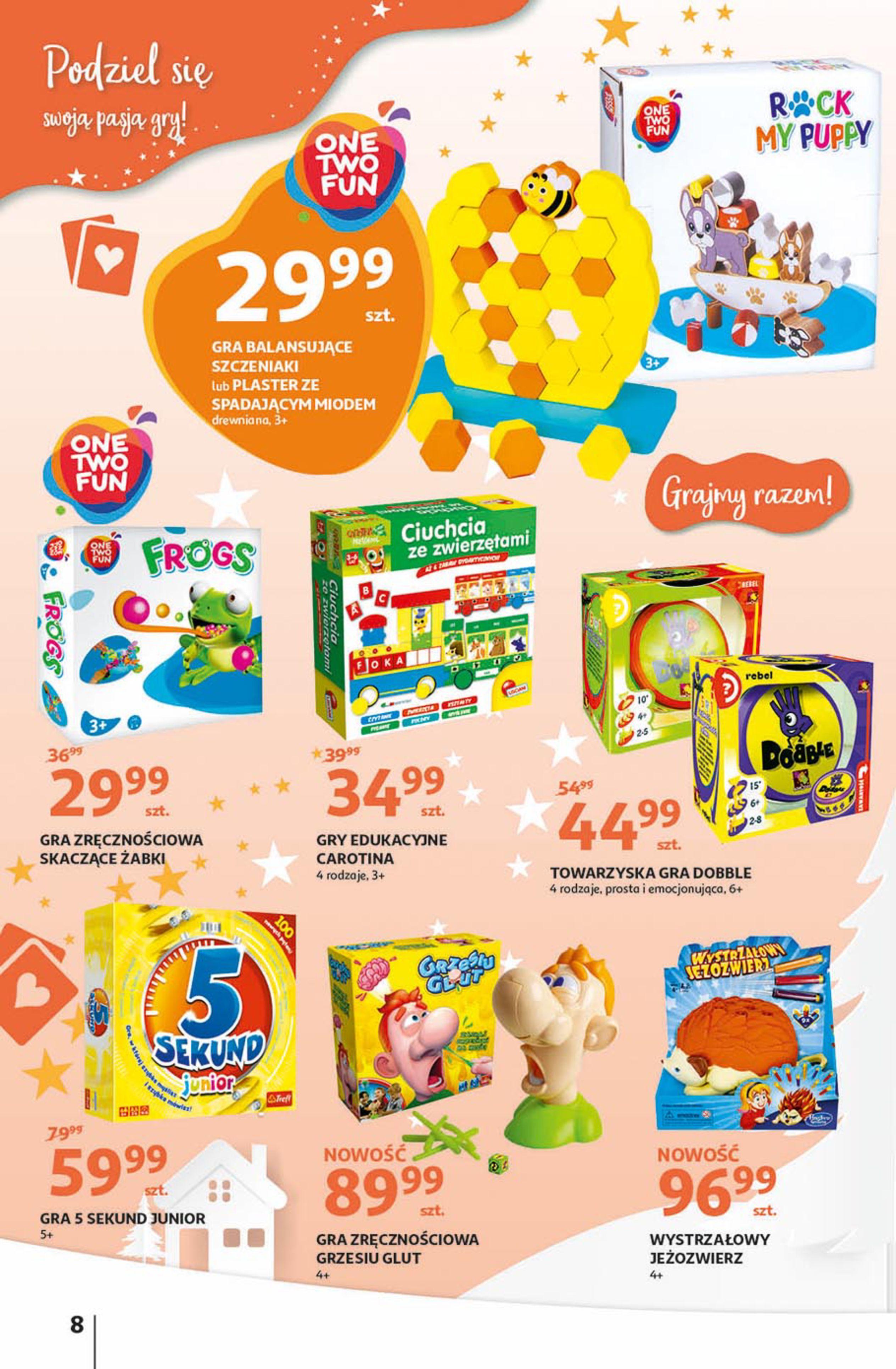 Gazetka Auchan - Magia zabawek Hipermarkety-06.11.2019-20.11.2019-page-8