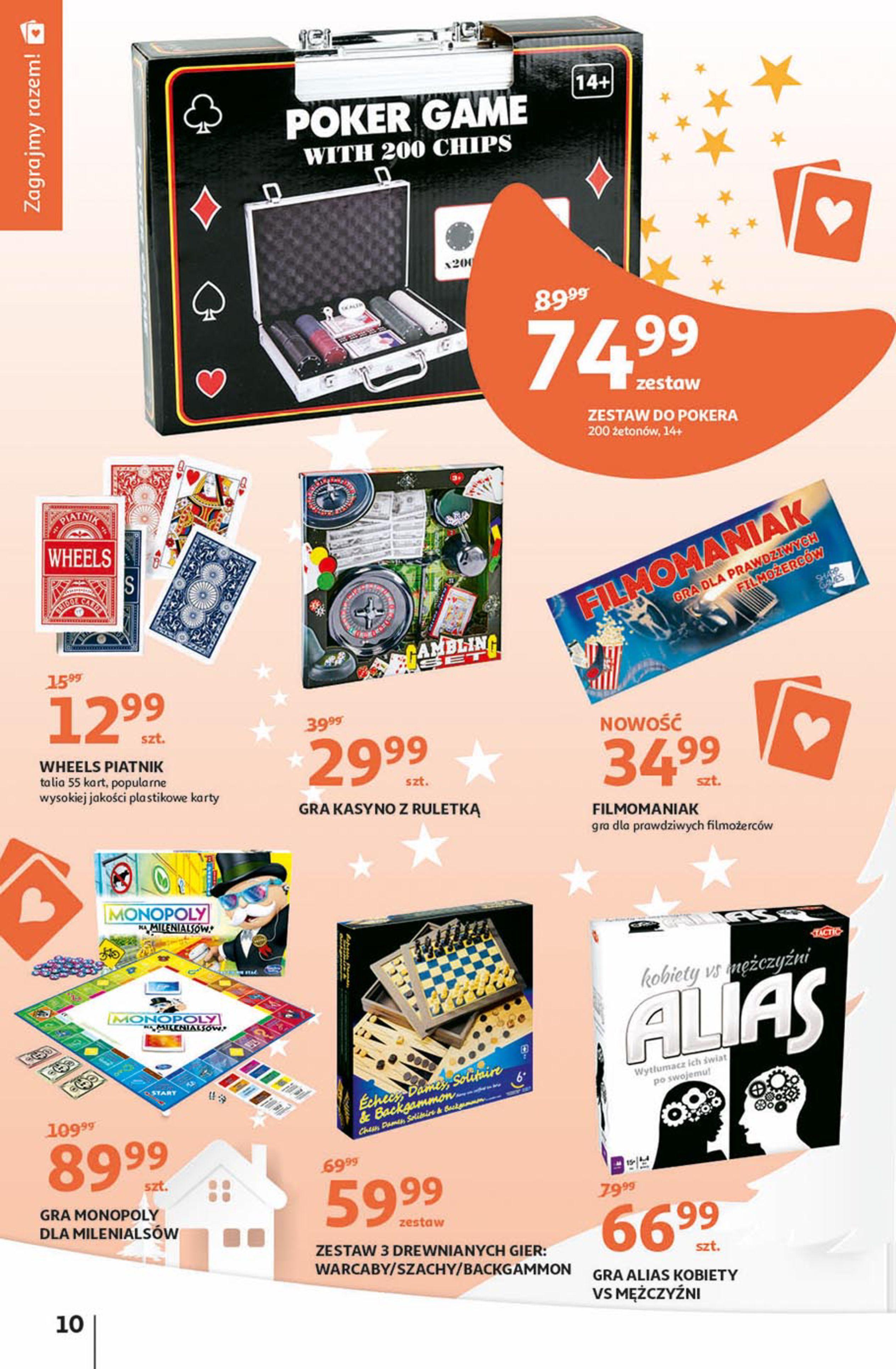 Gazetka Auchan - Magia zabawek Hipermarkety-06.11.2019-20.11.2019-page-10