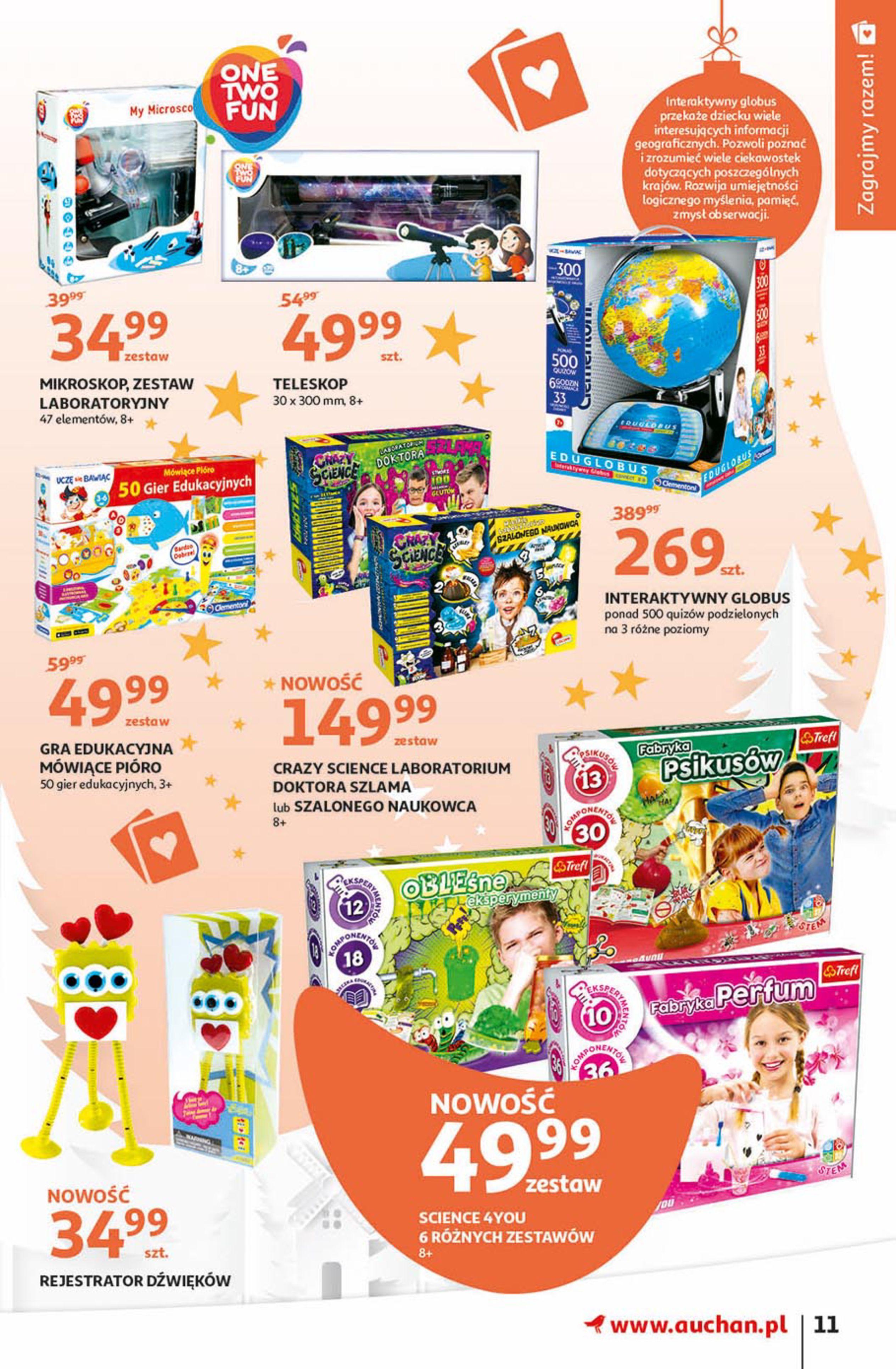 Gazetka Auchan - Magia zabawek Hipermarkety-06.11.2019-20.11.2019-page-11