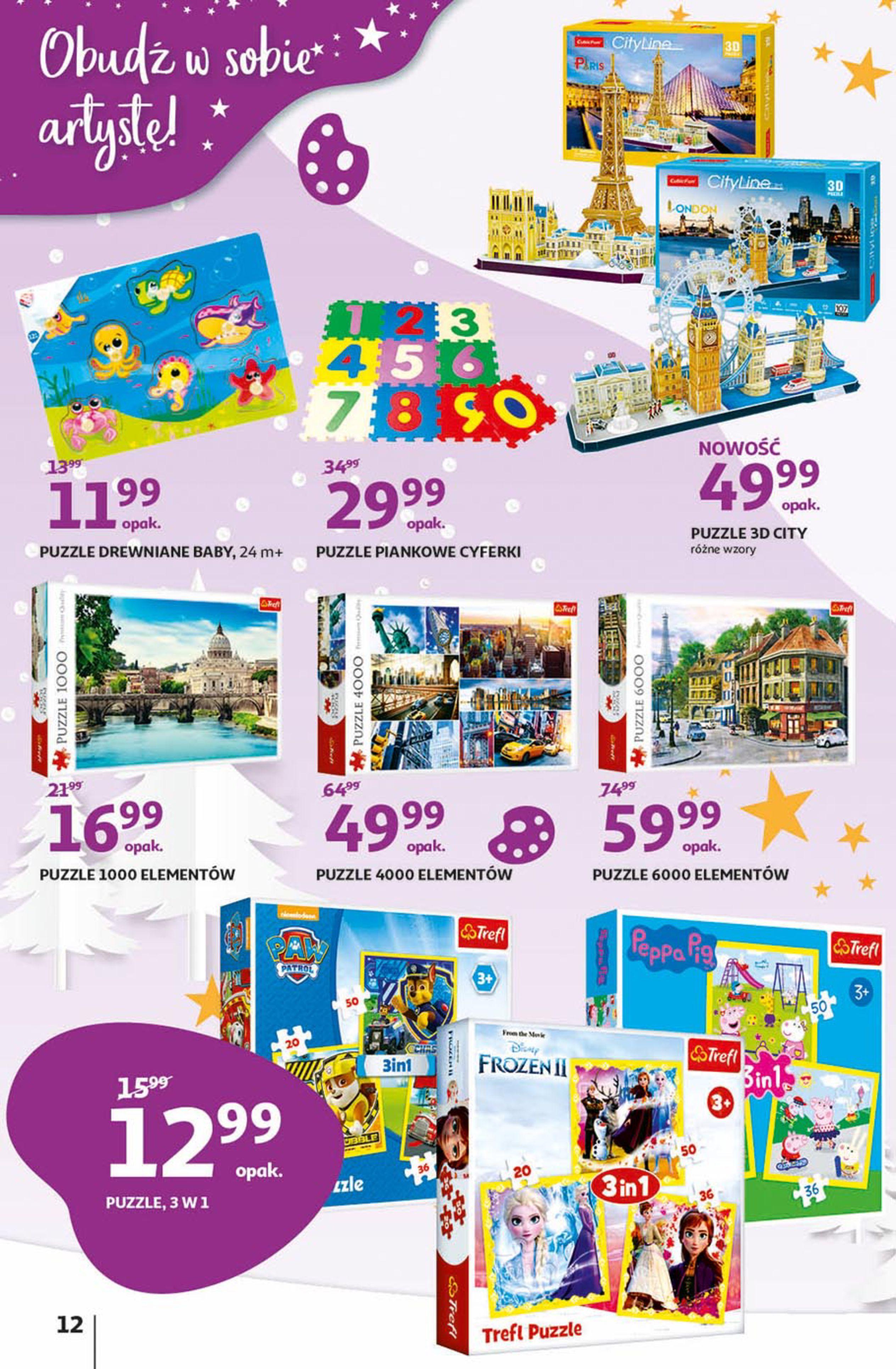 Gazetka Auchan - Magia zabawek Hipermarkety-06.11.2019-20.11.2019-page-12