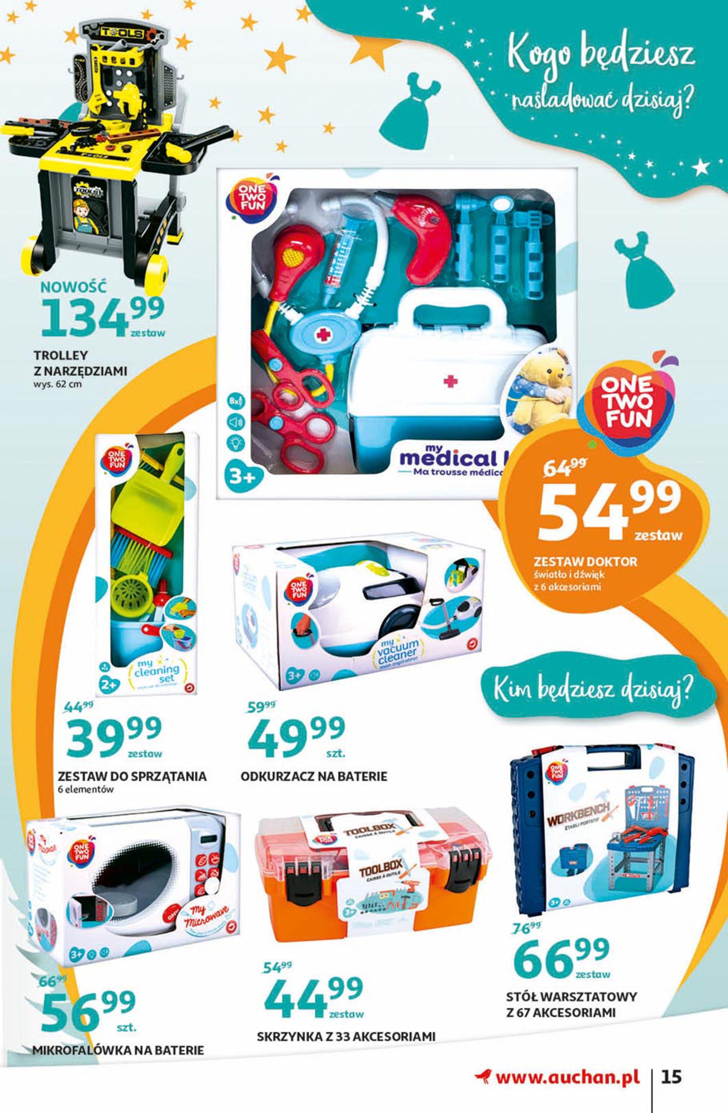 Gazetka Auchan - Magia zabawek Hipermarkety-06.11.2019-20.11.2019-page-15