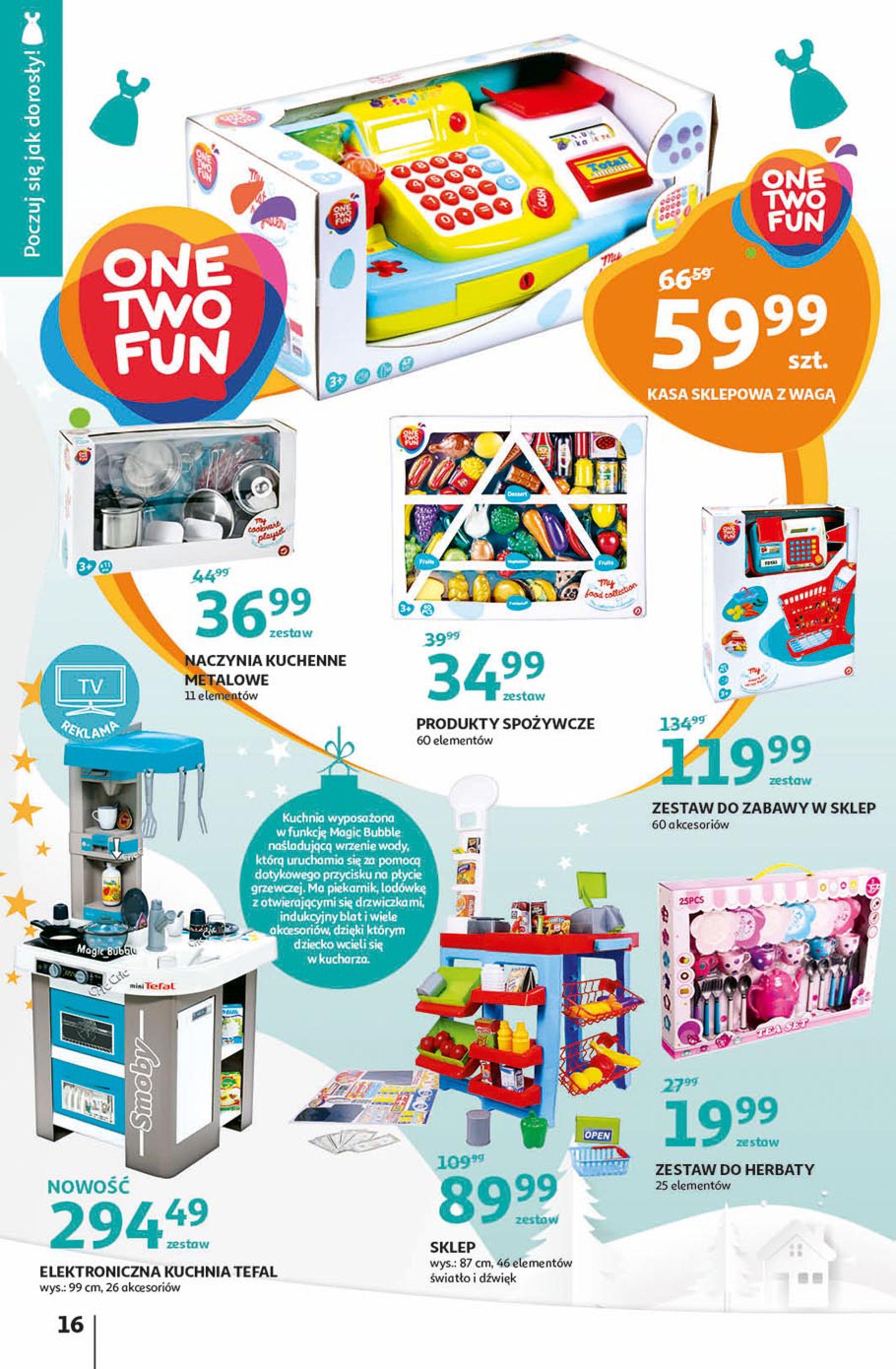 Gazetka Auchan - Magia zabawek Hipermarkety-06.11.2019-20.11.2019-page-16
