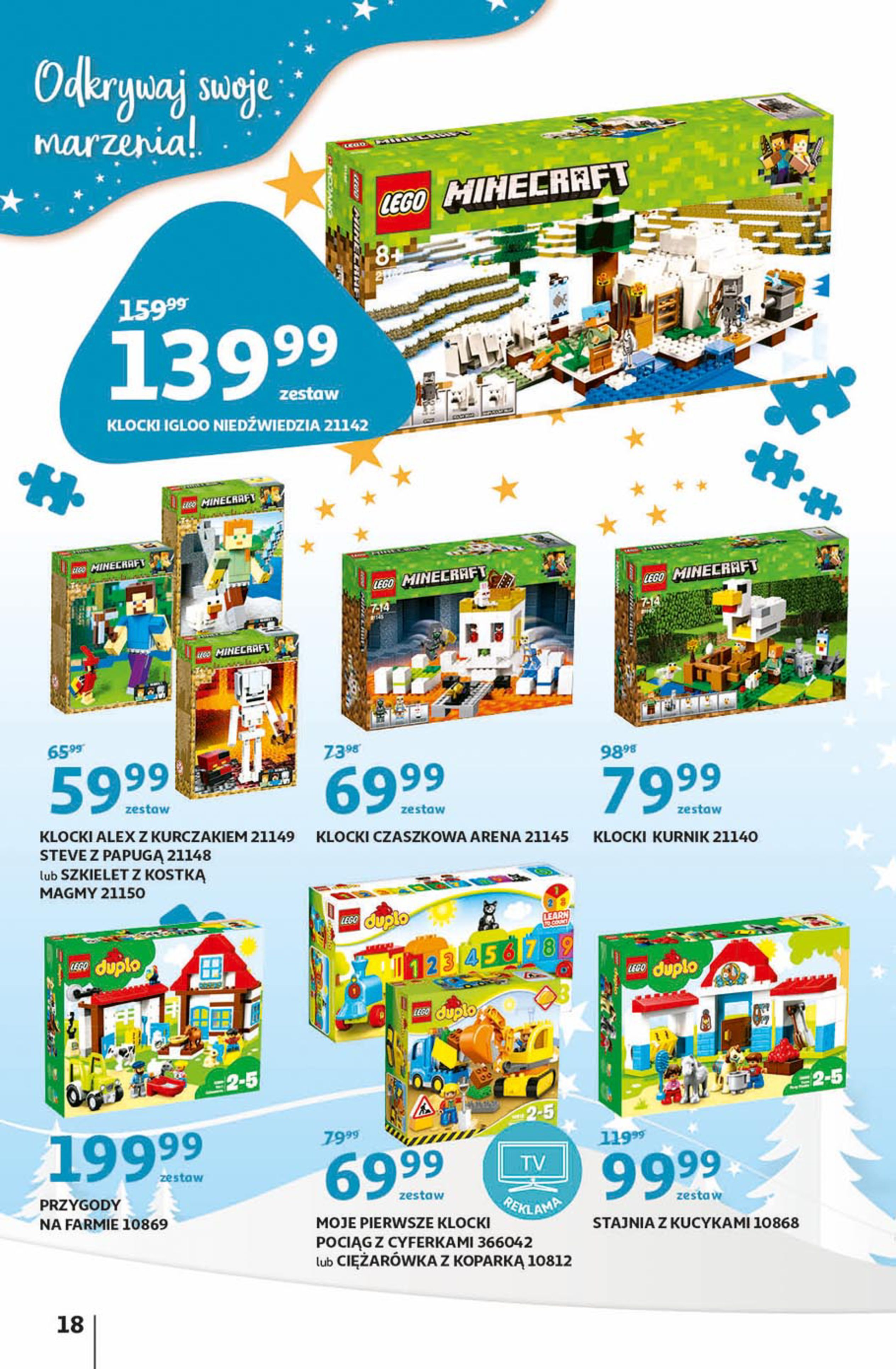 Gazetka Auchan - Magia zabawek Hipermarkety-06.11.2019-20.11.2019-page-18