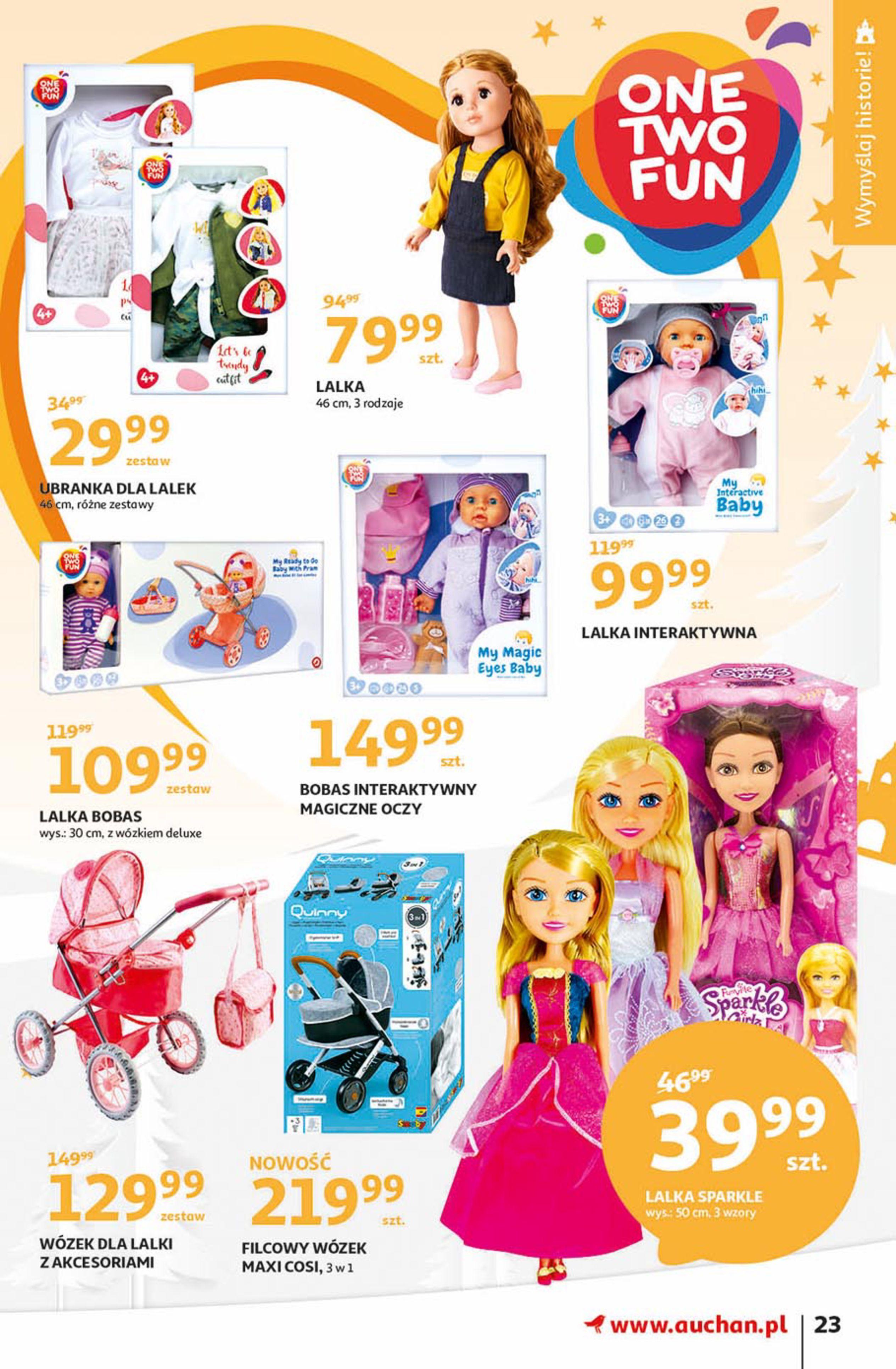 Gazetka Auchan - Magia zabawek Hipermarkety-06.11.2019-20.11.2019-page-23