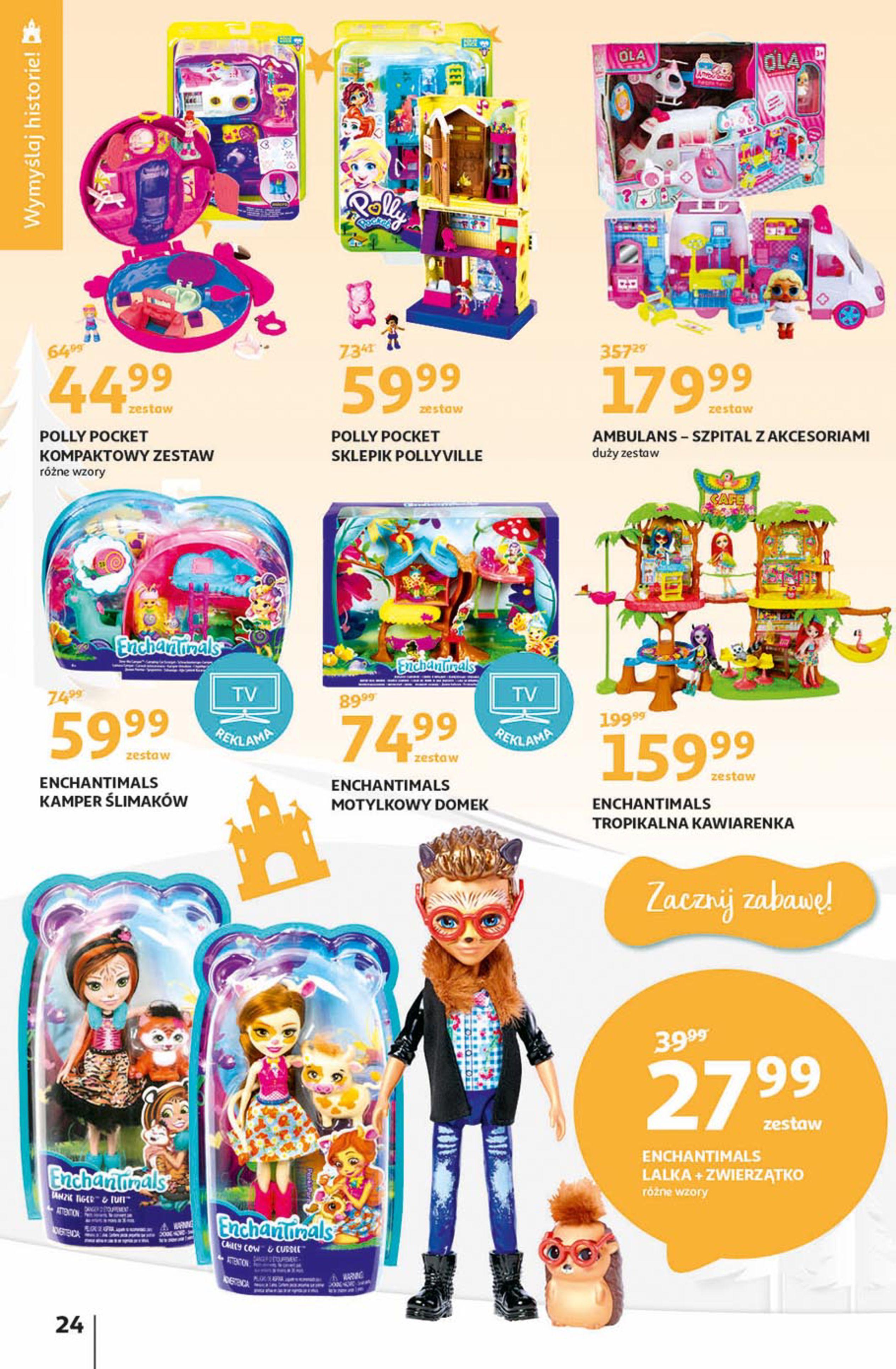 Gazetka Auchan - Magia zabawek Hipermarkety-06.11.2019-20.11.2019-page-24