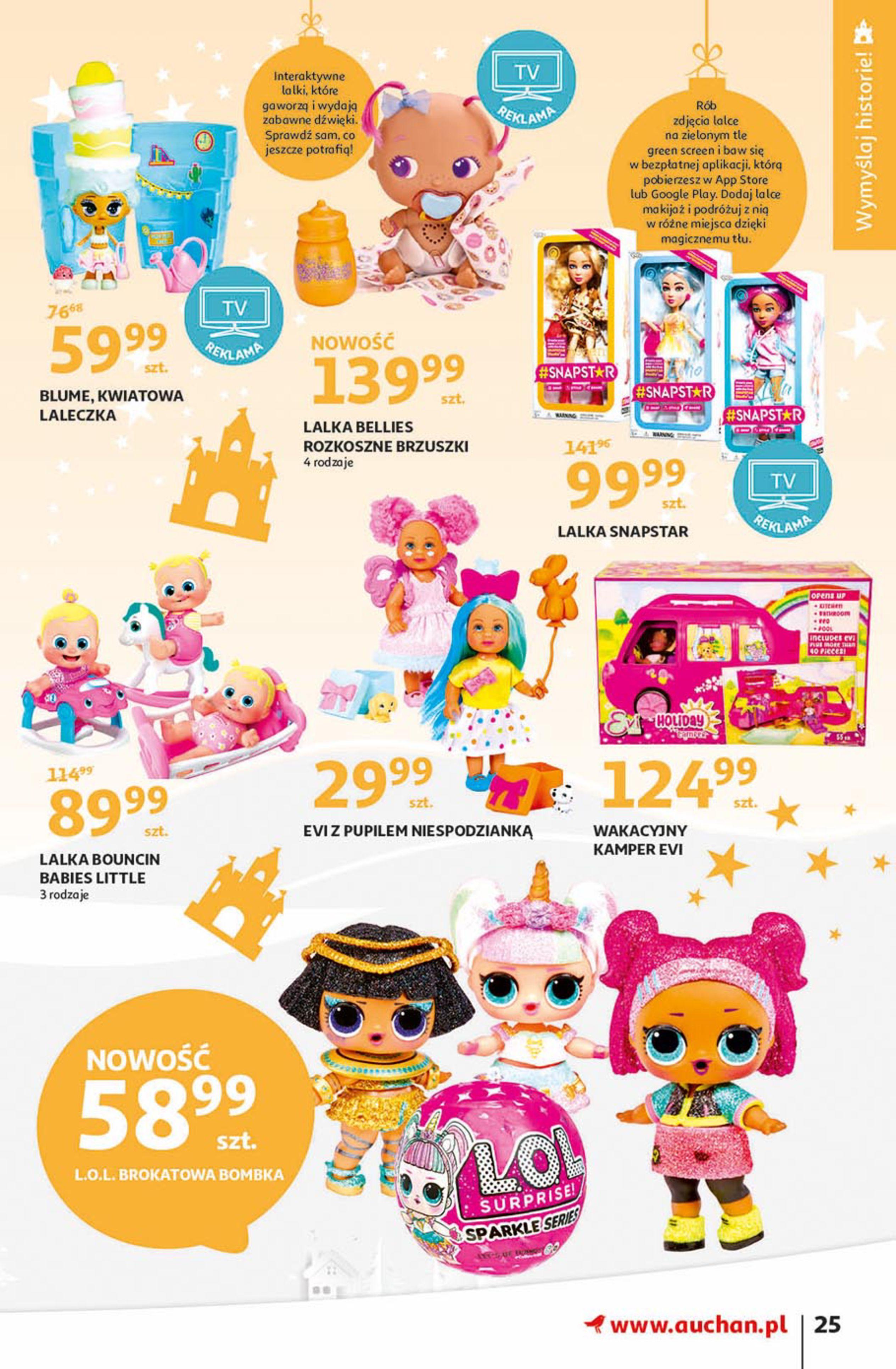 Gazetka Auchan - Magia zabawek Hipermarkety-06.11.2019-20.11.2019-page-25