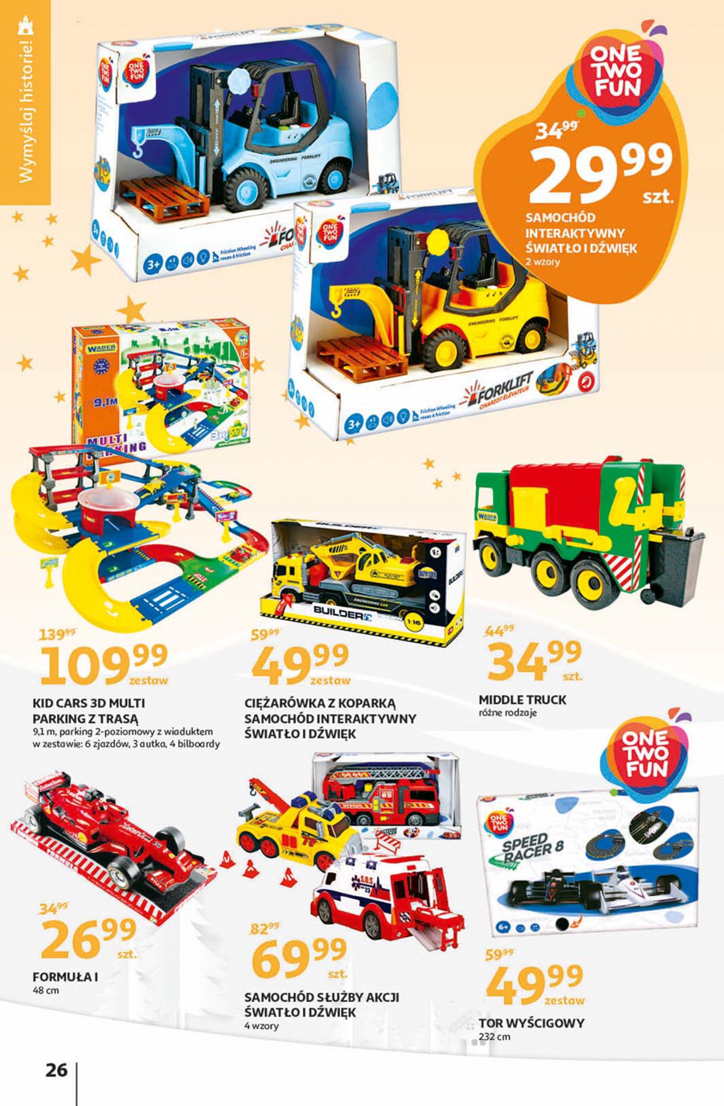 Gazetka Auchan - Magia zabawek Hipermarkety-06.11.2019-20.11.2019-page-26