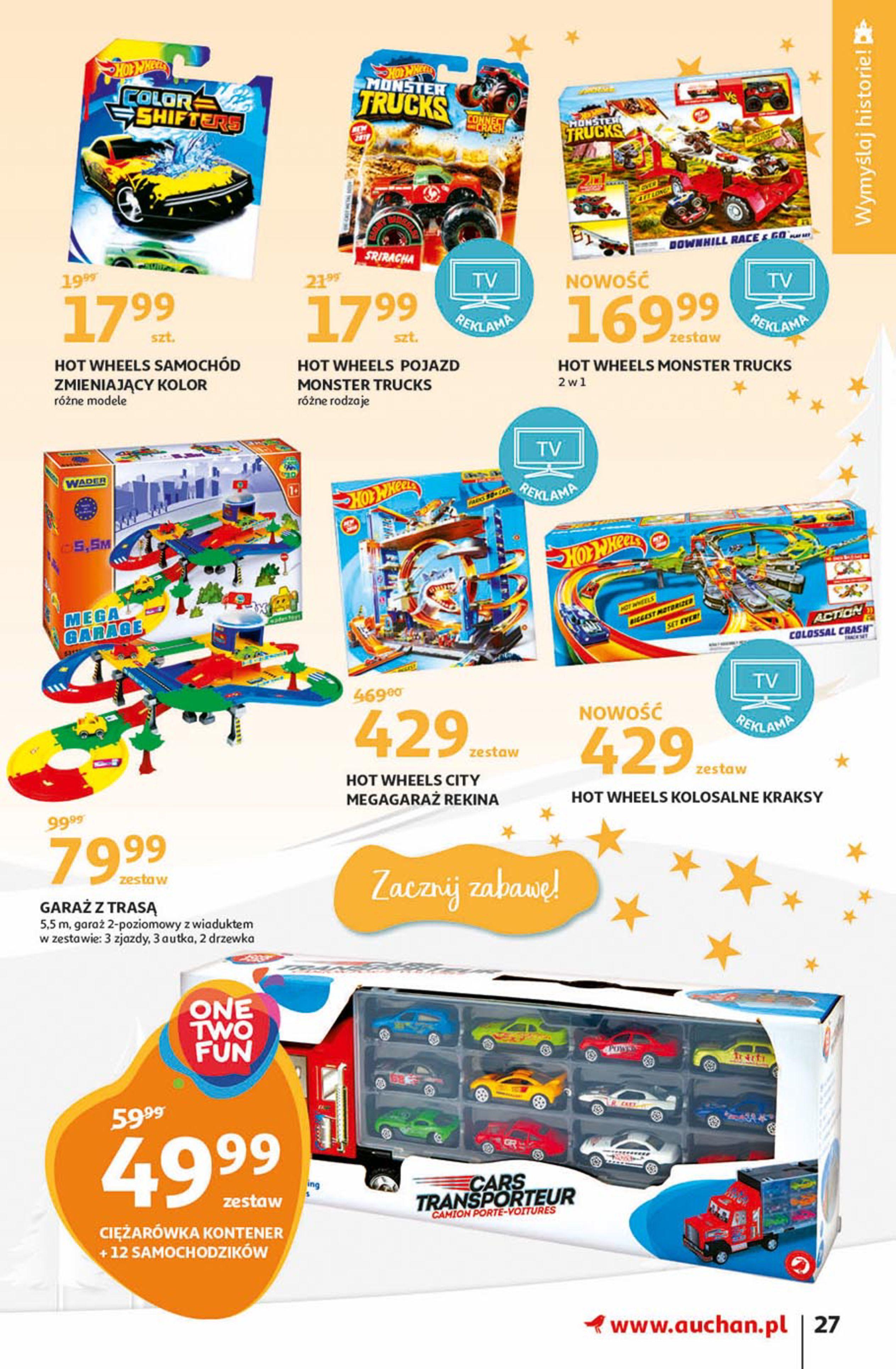 Gazetka Auchan - Magia zabawek Hipermarkety-06.11.2019-20.11.2019-page-27