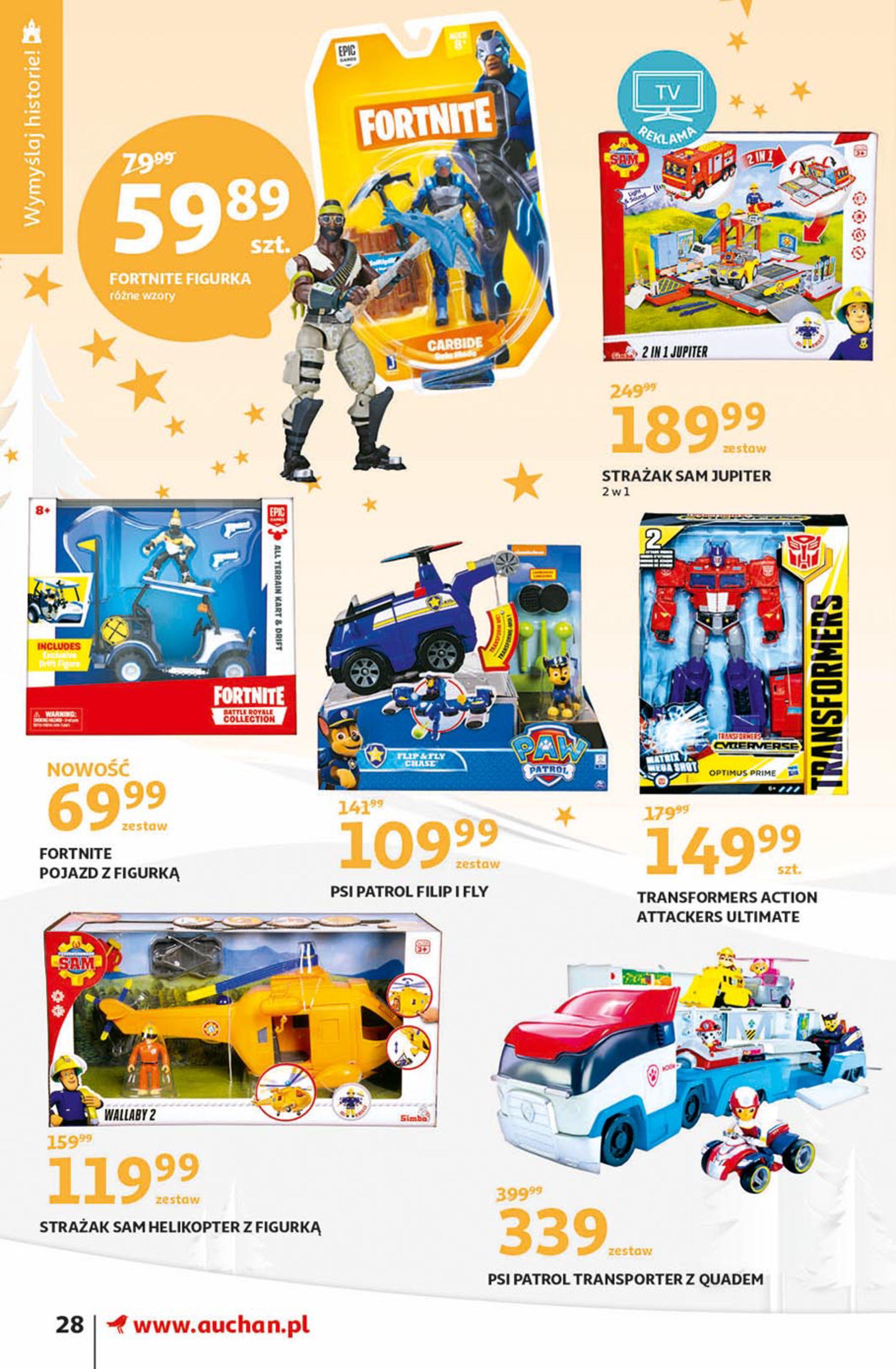 Gazetka Auchan - Magia zabawek Hipermarkety-06.11.2019-20.11.2019-page-28