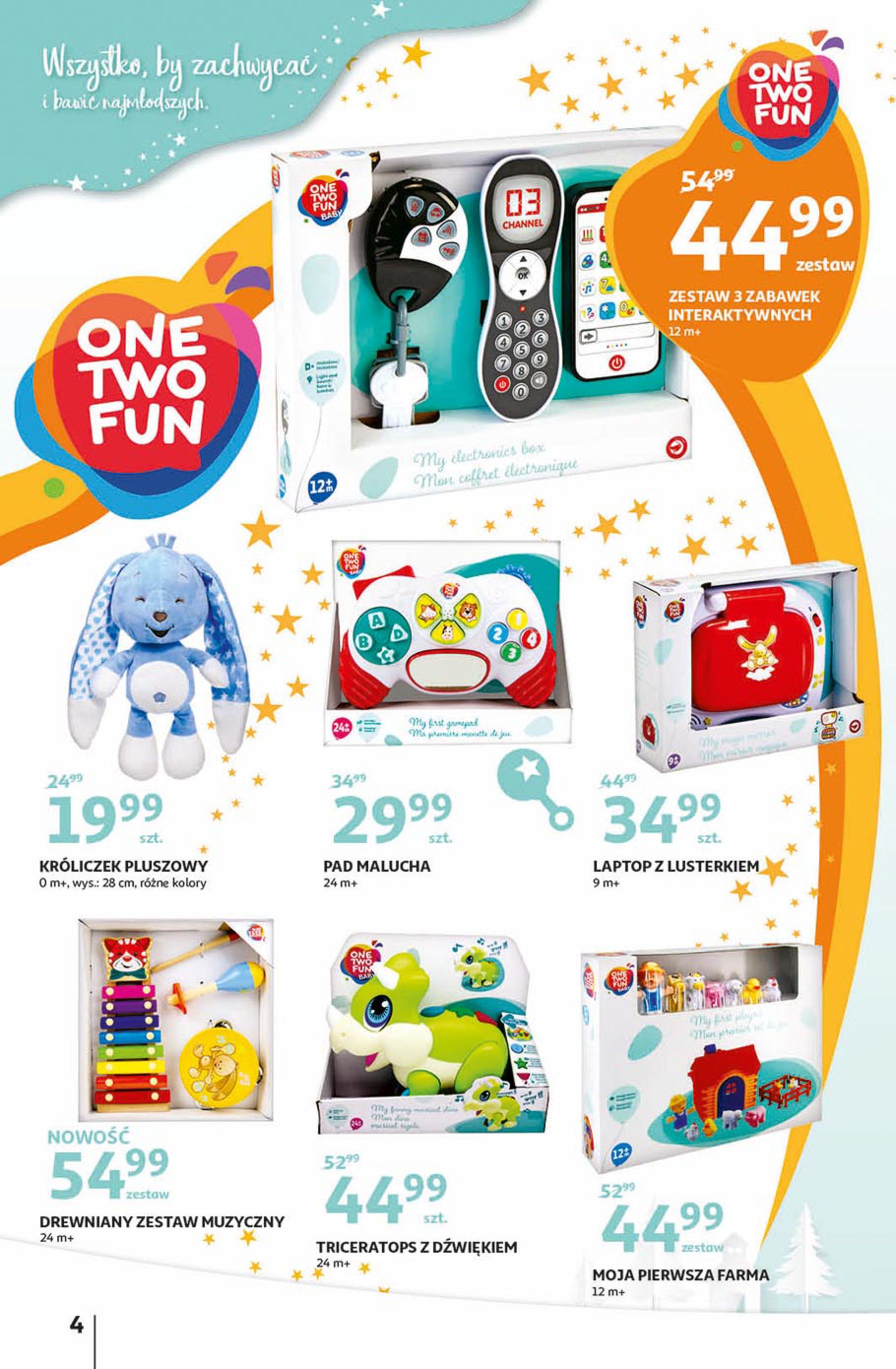 Gazetka Auchan - Magia zabawek Hipermarkety-06.11.2019-20.11.2019-page-4