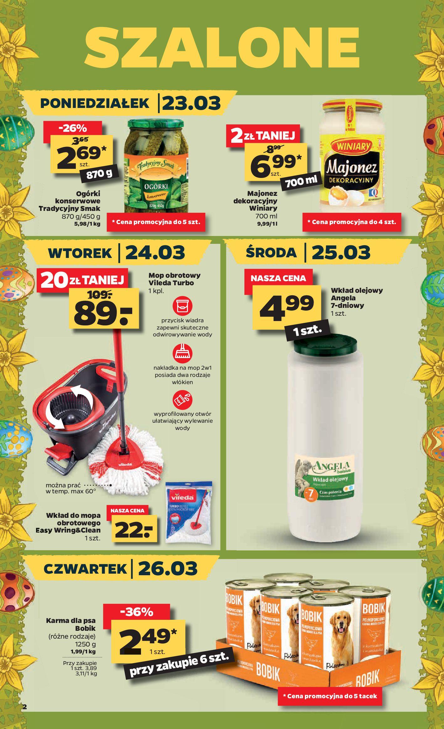 Gazetka Netto - Oferta spożywcza-22.03.2020-28.03.2020-page-2