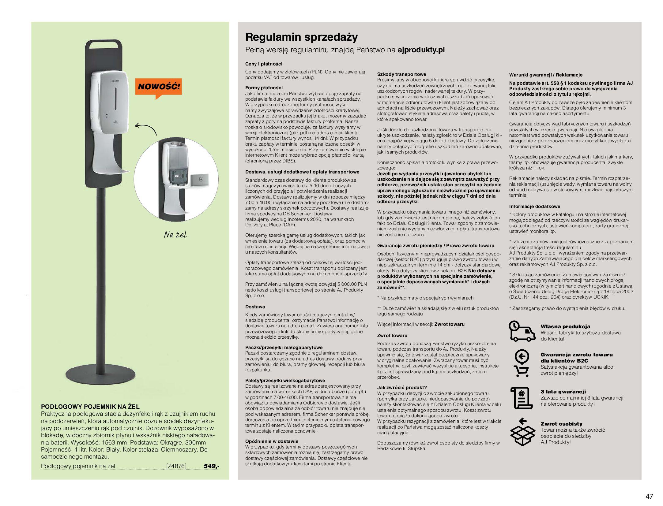 Gazetka AJ Produkty: Gazetka AJ Produkty - katalog przemysł i warsztat 2021-05-07 page-47