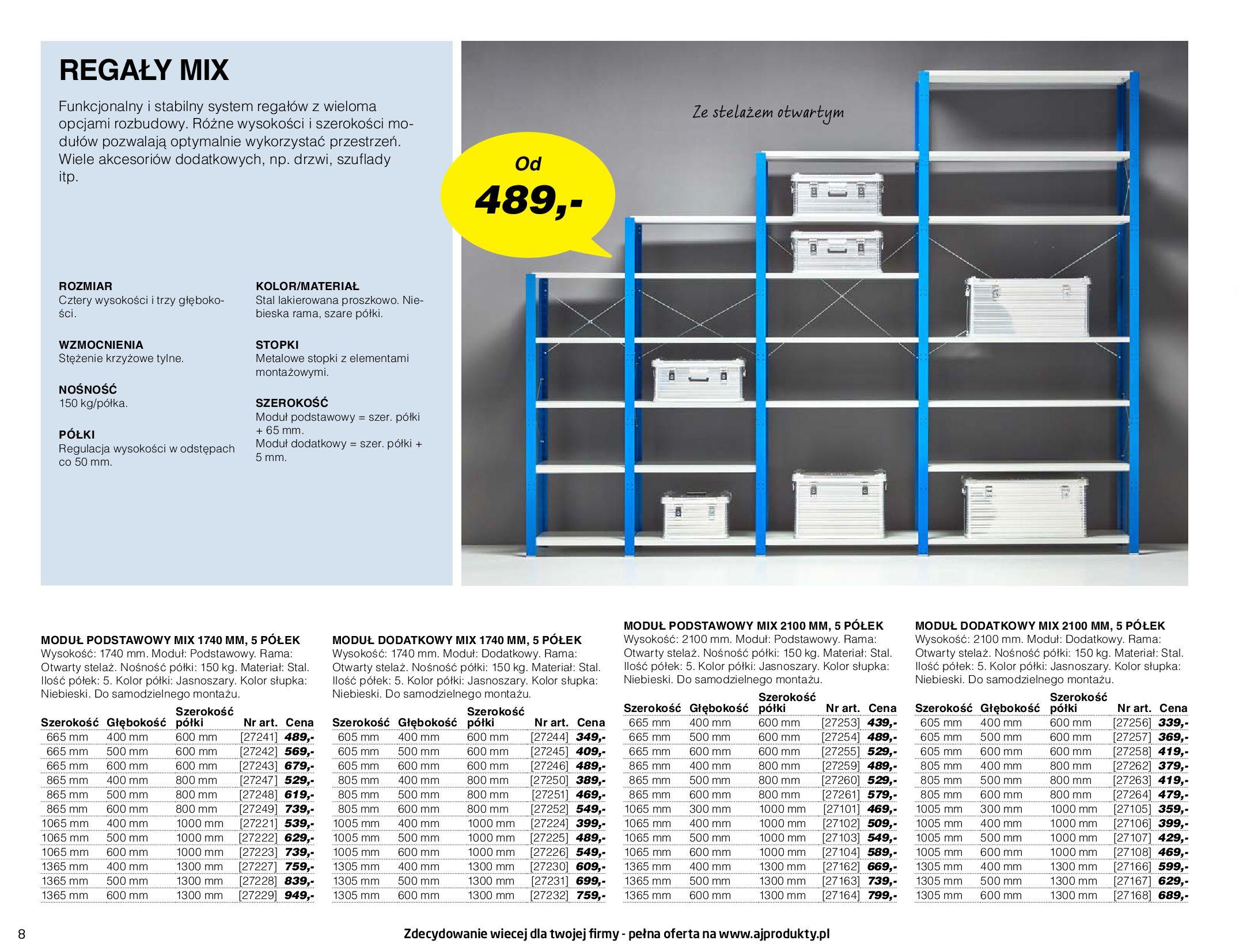 Gazetka AJ Produkty: Gazetka AJ Produkty - katalog przemysł i warsztat 2021-05-07 page-8