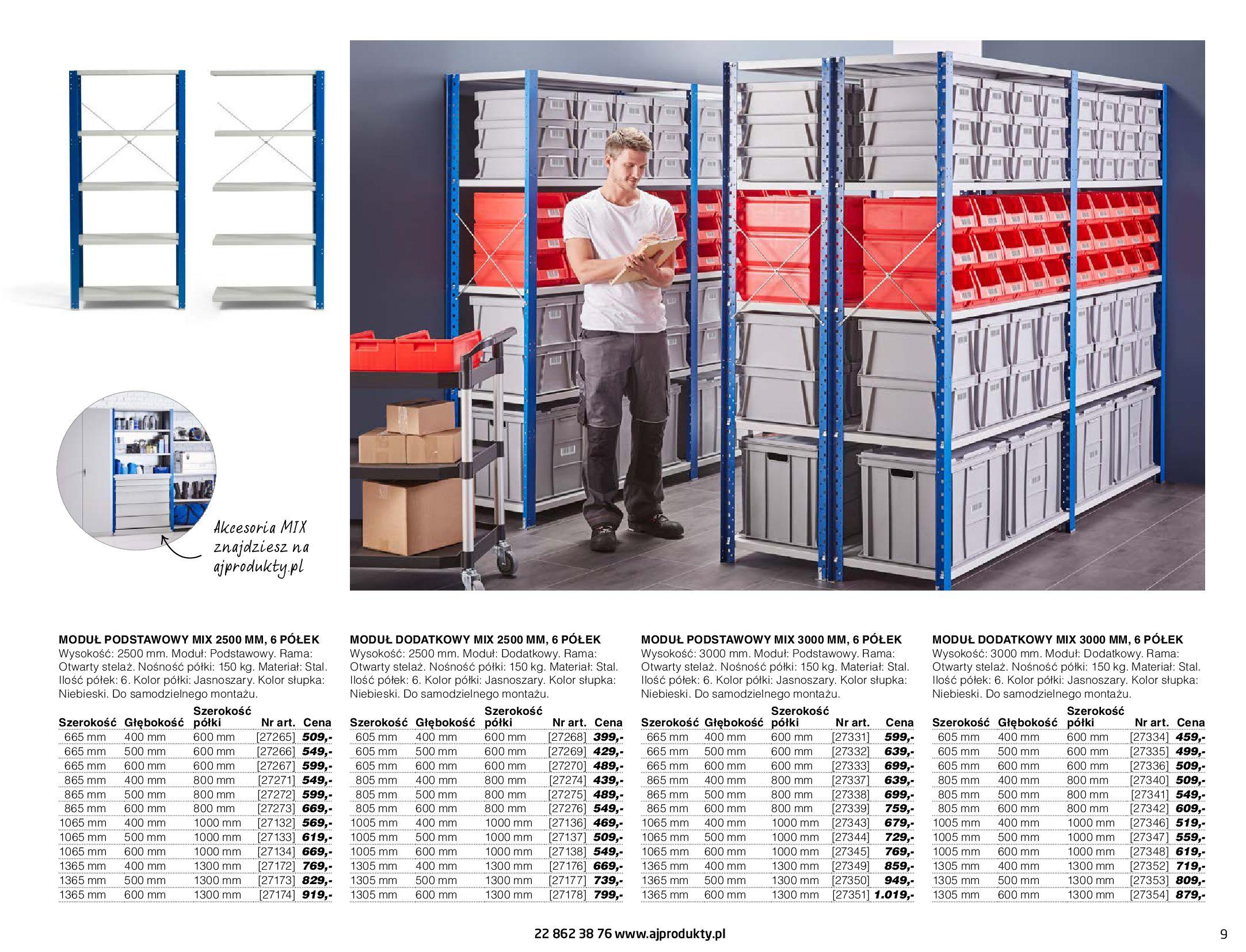 Gazetka AJ Produkty: Gazetka AJ Produkty - katalog przemysł i warsztat 2021-05-07 page-9