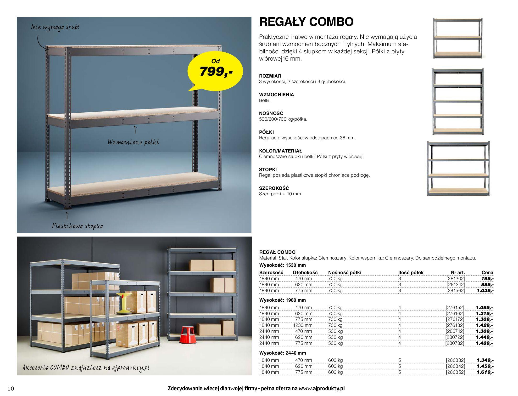 Gazetka AJ Produkty: Gazetka AJ Produkty - katalog przemysł i warsztat 2021-05-07 page-10