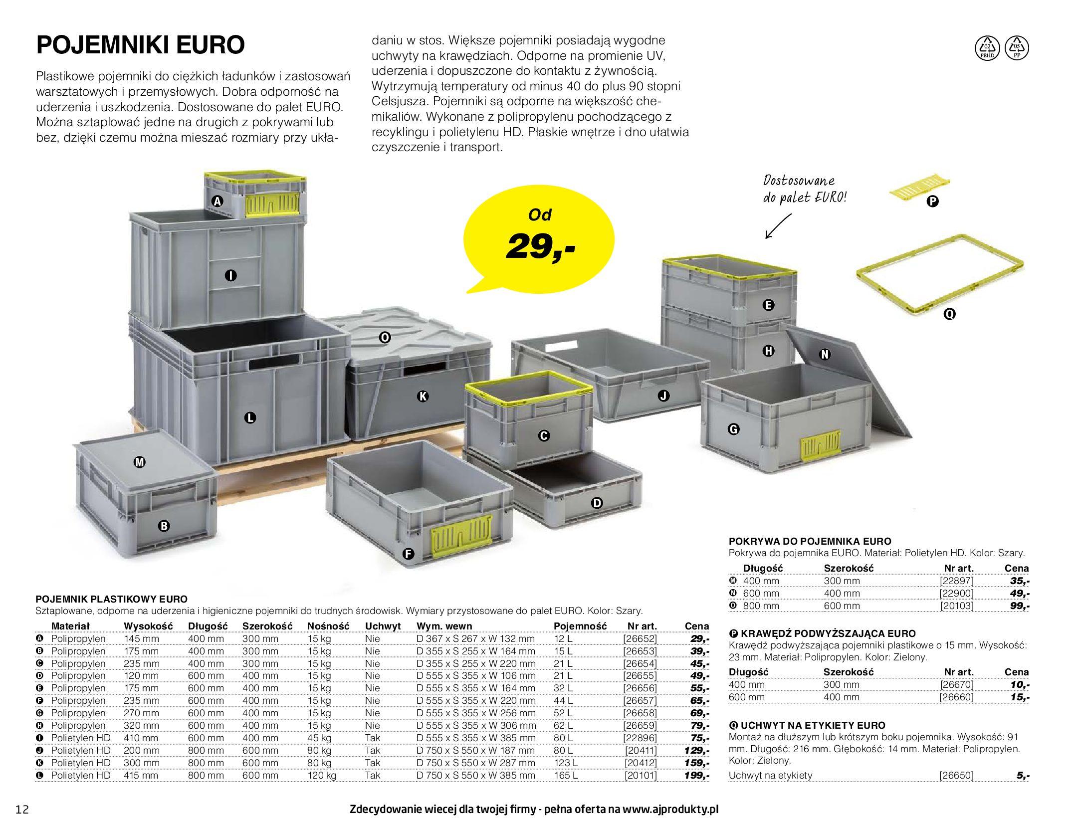 Gazetka AJ Produkty: Gazetka AJ Produkty - katalog przemysł i warsztat 2021-05-07 page-12